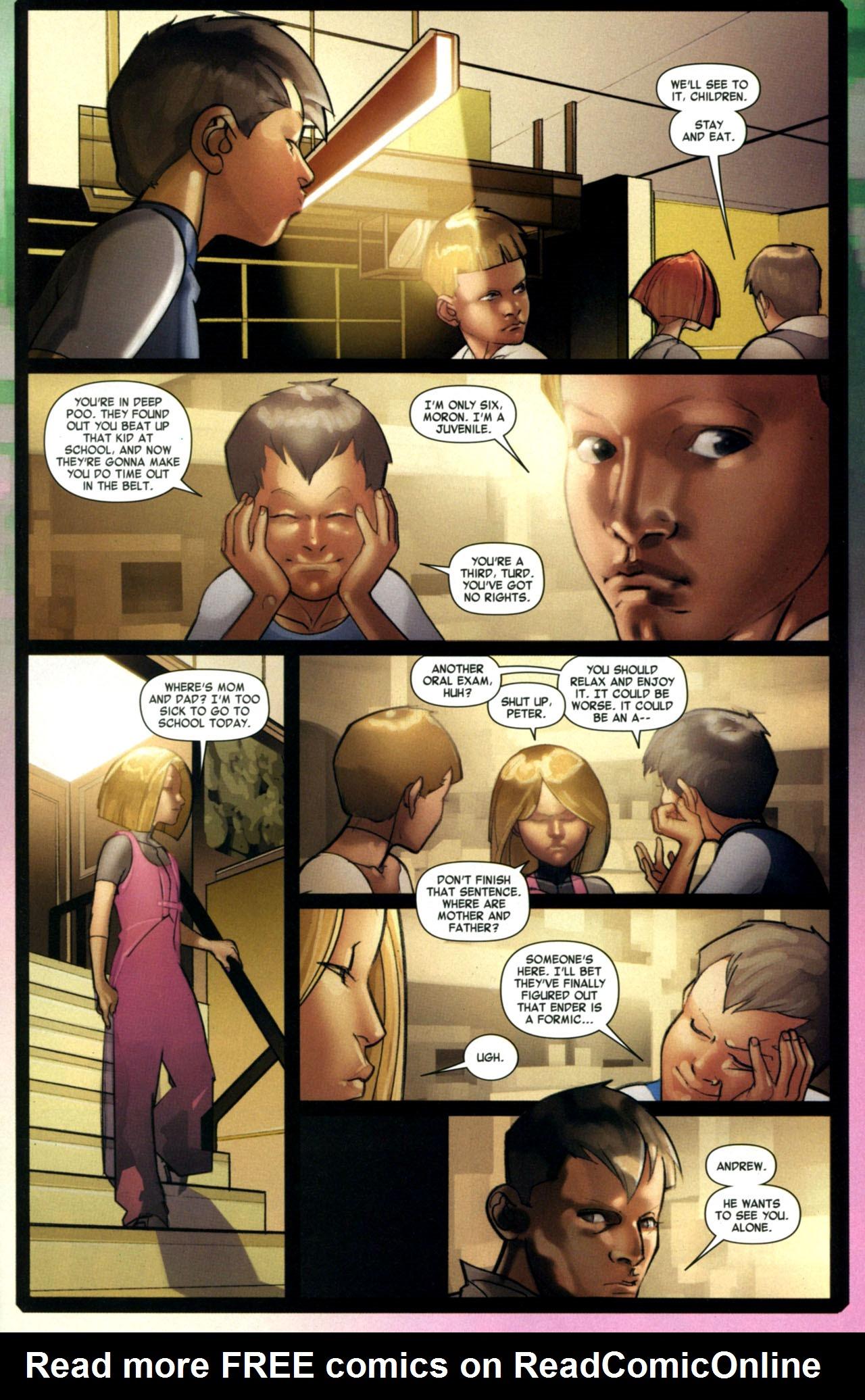 Read online Ender's Game: Battle School comic -  Issue #1 - 20