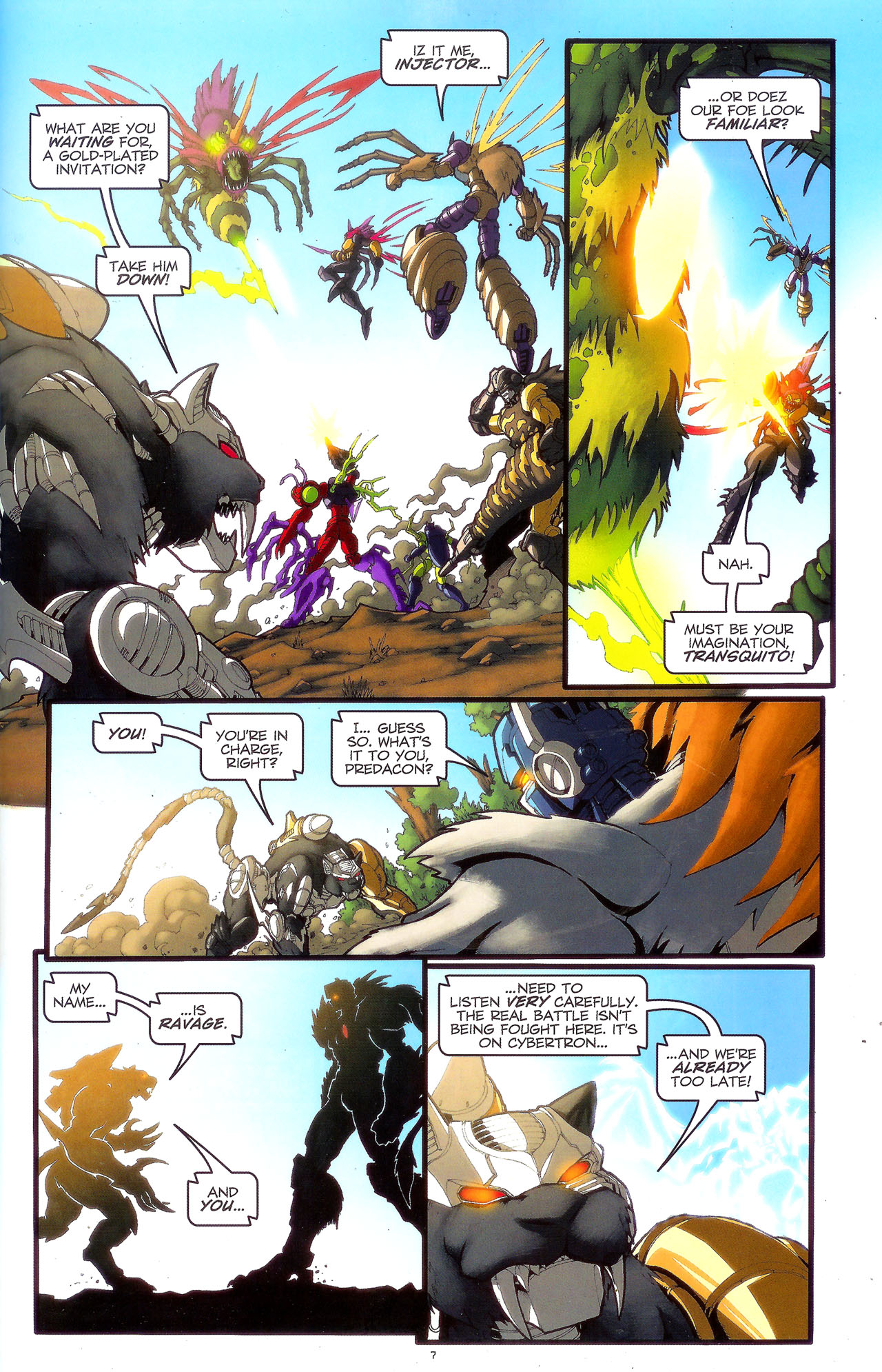 Read online Transformers: Beast Wars: The Ascending comic -  Issue #3 - 10