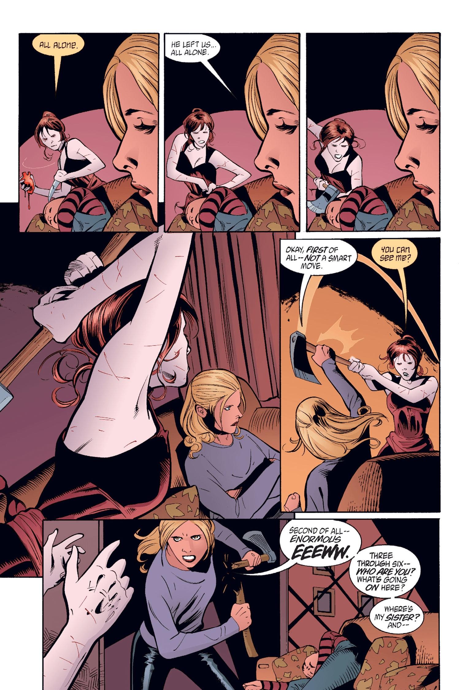 Read online Buffy the Vampire Slayer: Omnibus comic -  Issue # TPB 2 - 68