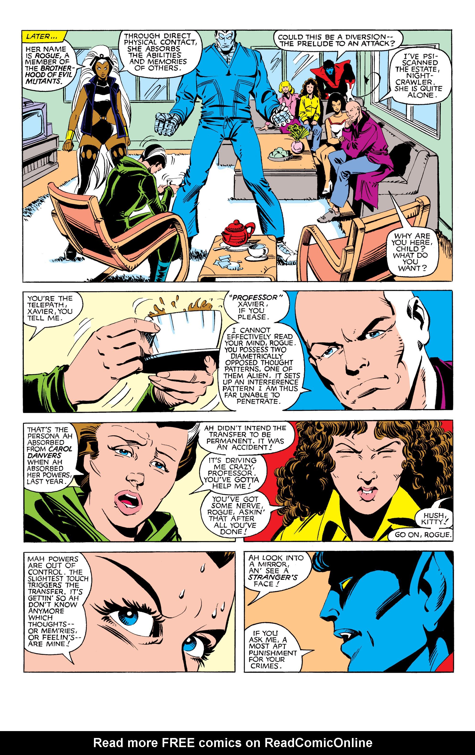 Read online Uncanny X-Men (1963) comic -  Issue #171 - 11