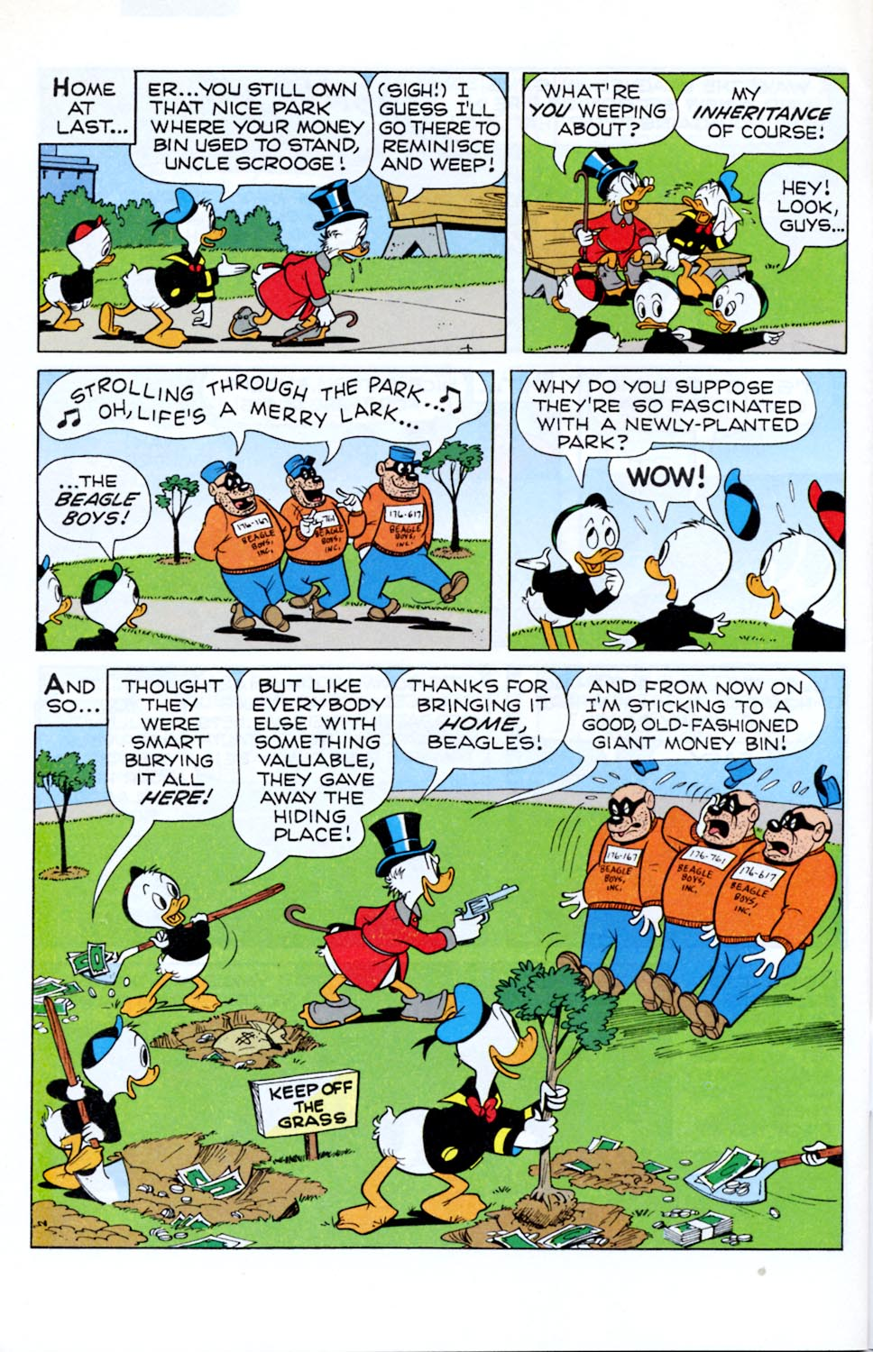 Read online Uncle Scrooge (1953) comic -  Issue #290 - 28
