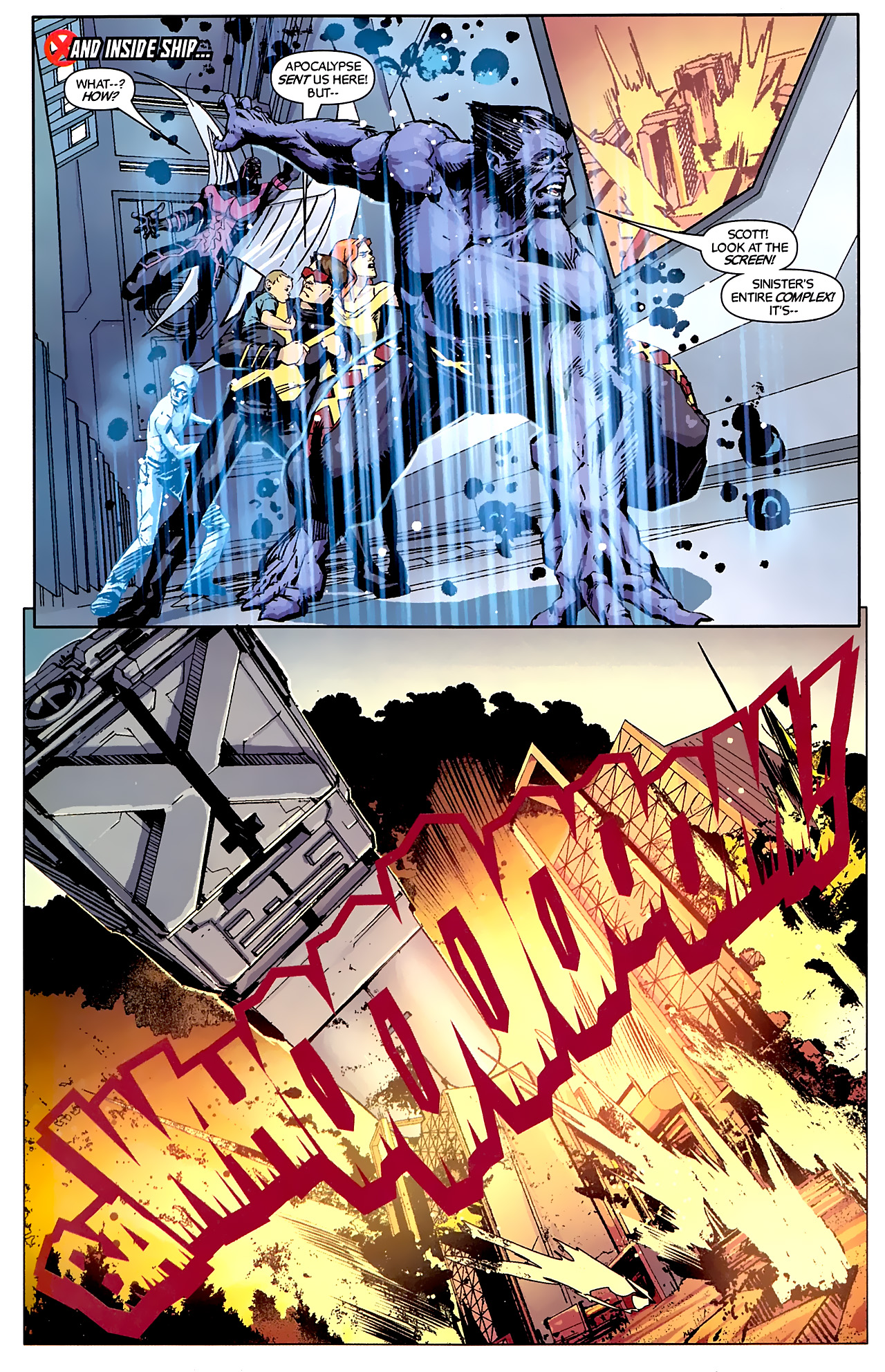 Read online X-Factor Forever comic -  Issue #5 - 8