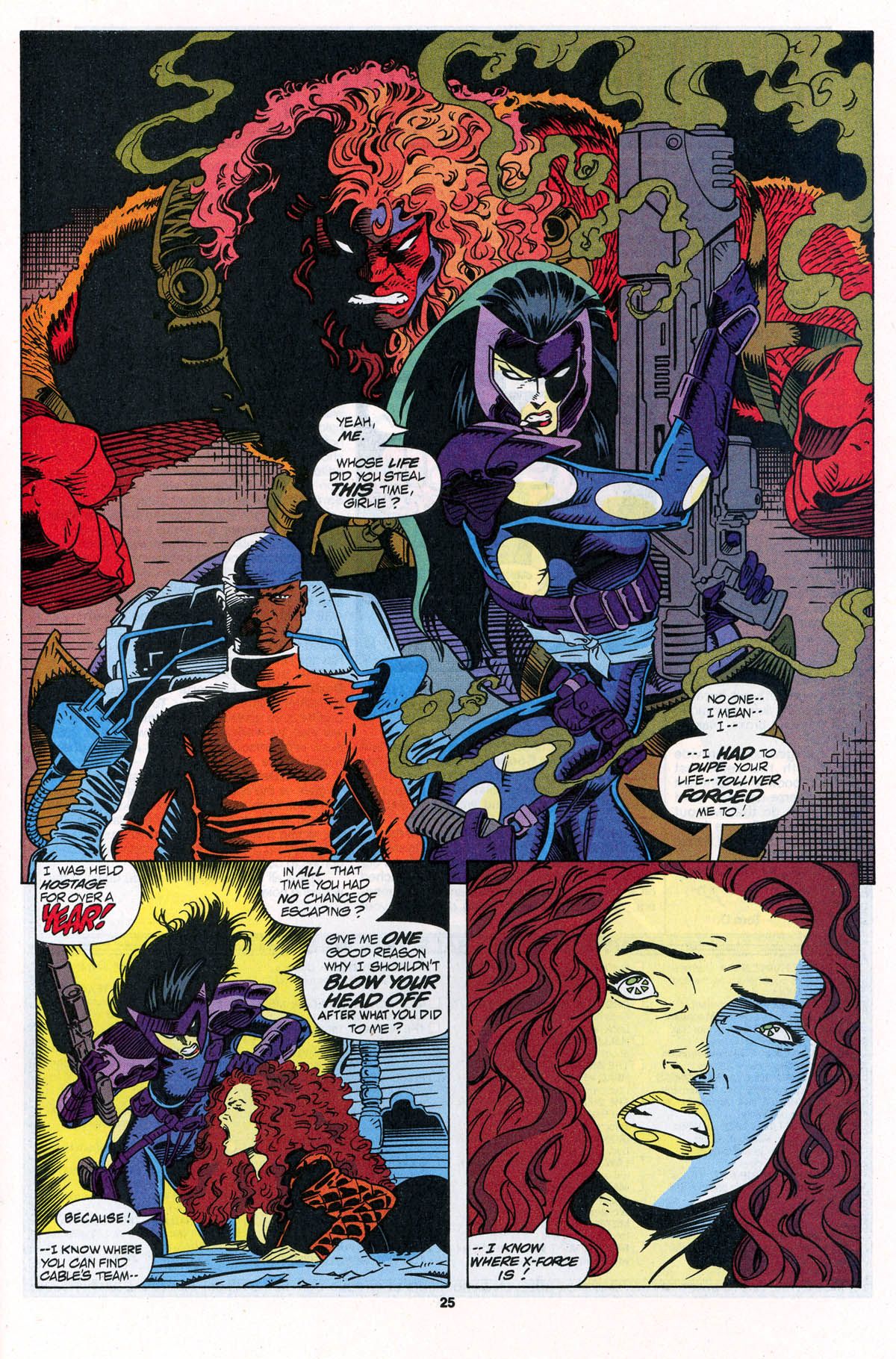 Read online X-Force (1991) comic -  Issue #23 - 25