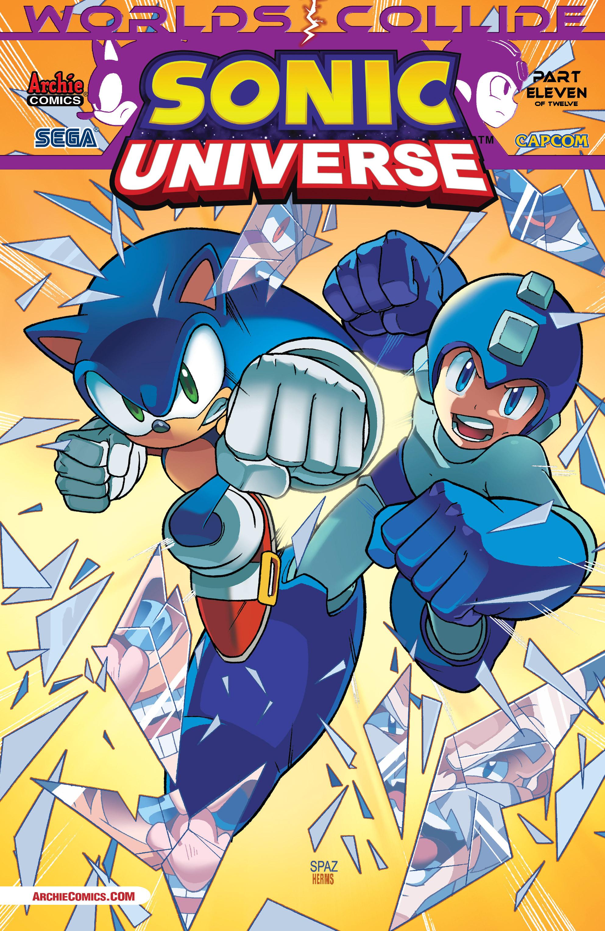 Read online Sonic Mega Man Worlds Collide comic -  Issue # Vol 3 - 71