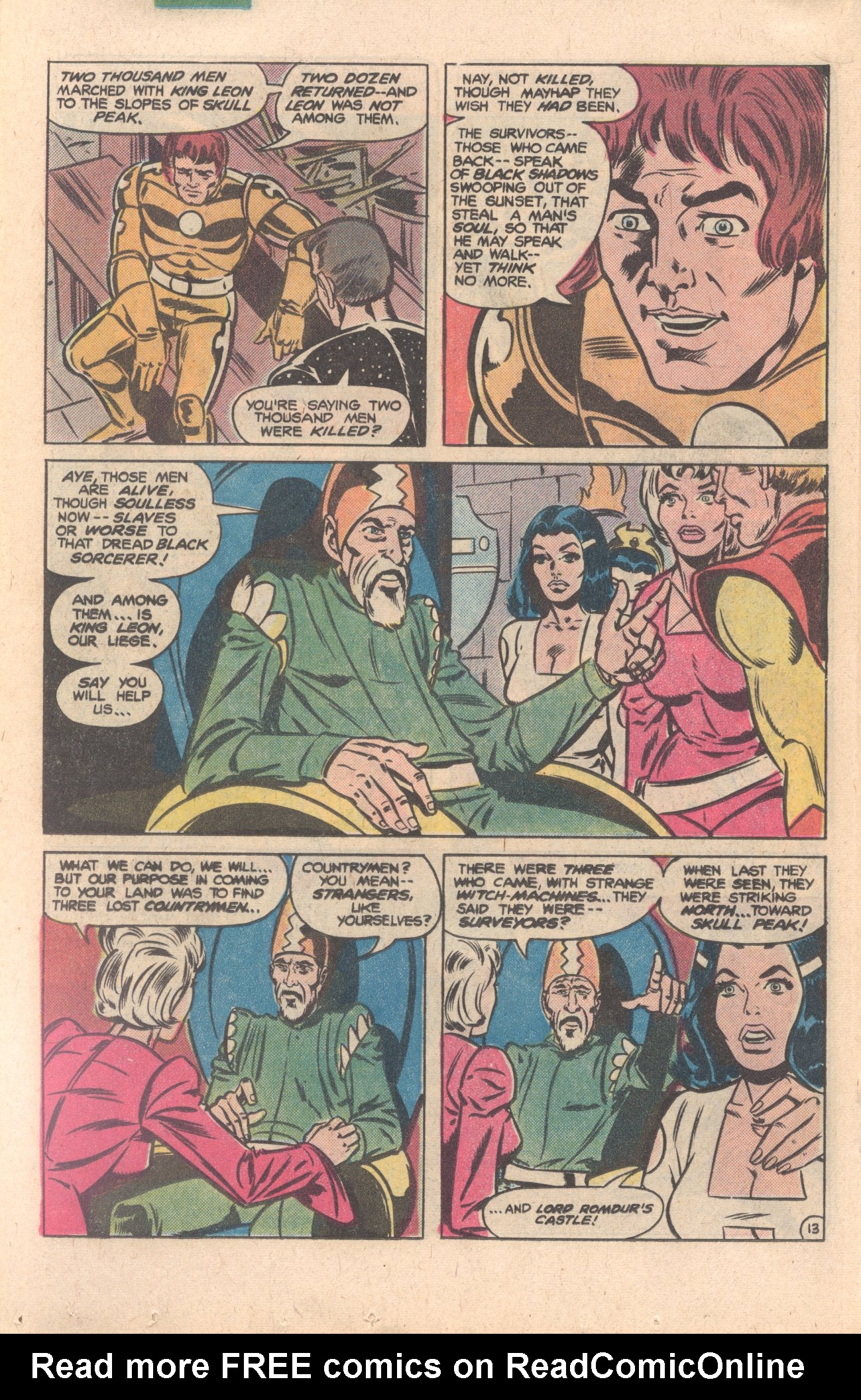 Legion of Super-Heroes (1980) 276 Page 13