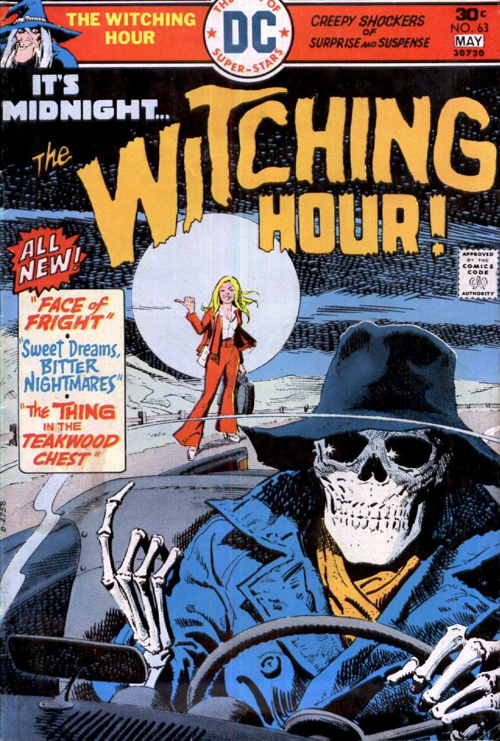 The Witching Hour (1969) issue 63 - Page 1