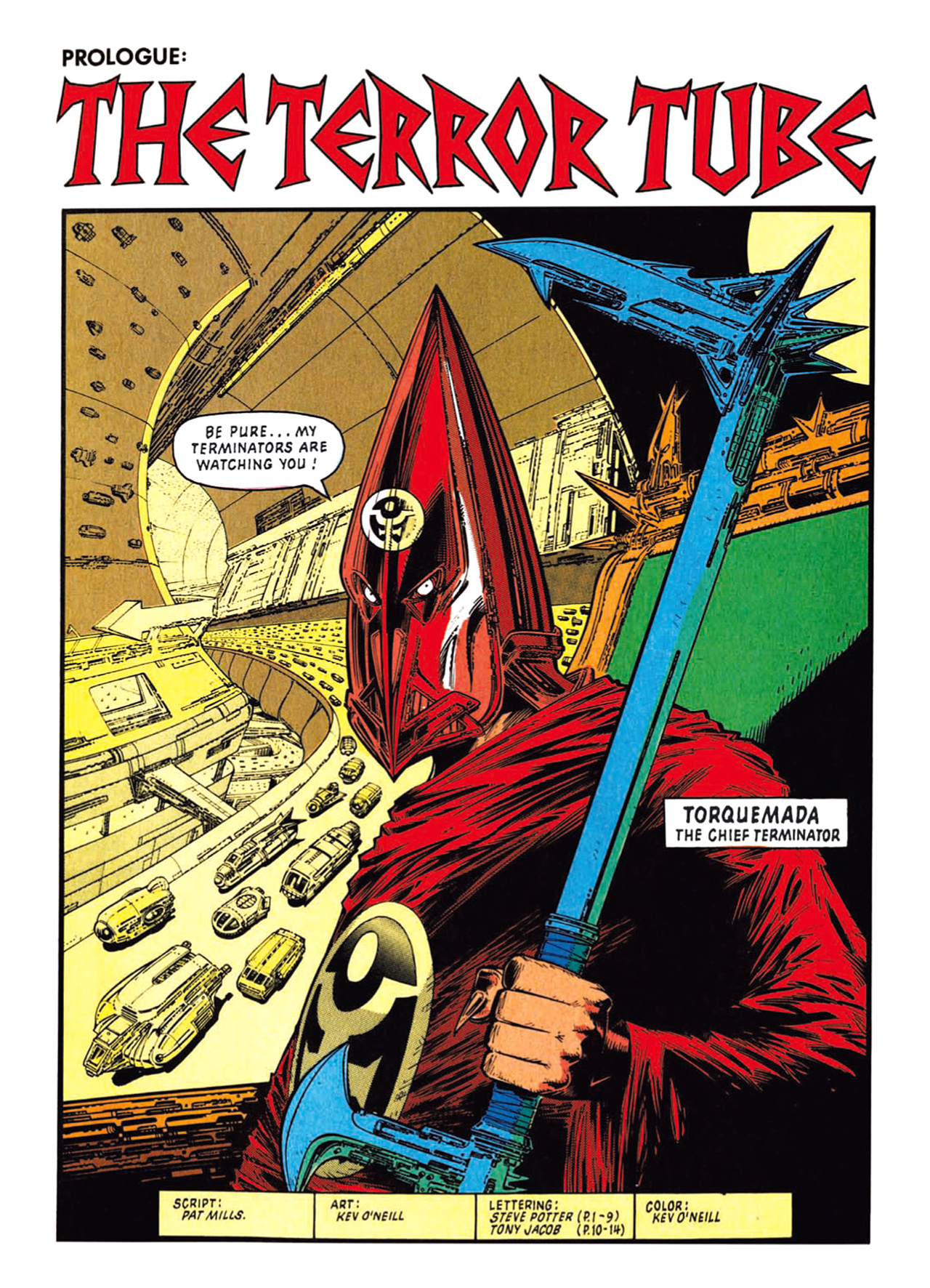 Read online Nemesis The Warlock comic -  Issue # TPB Deviant Edition - 5