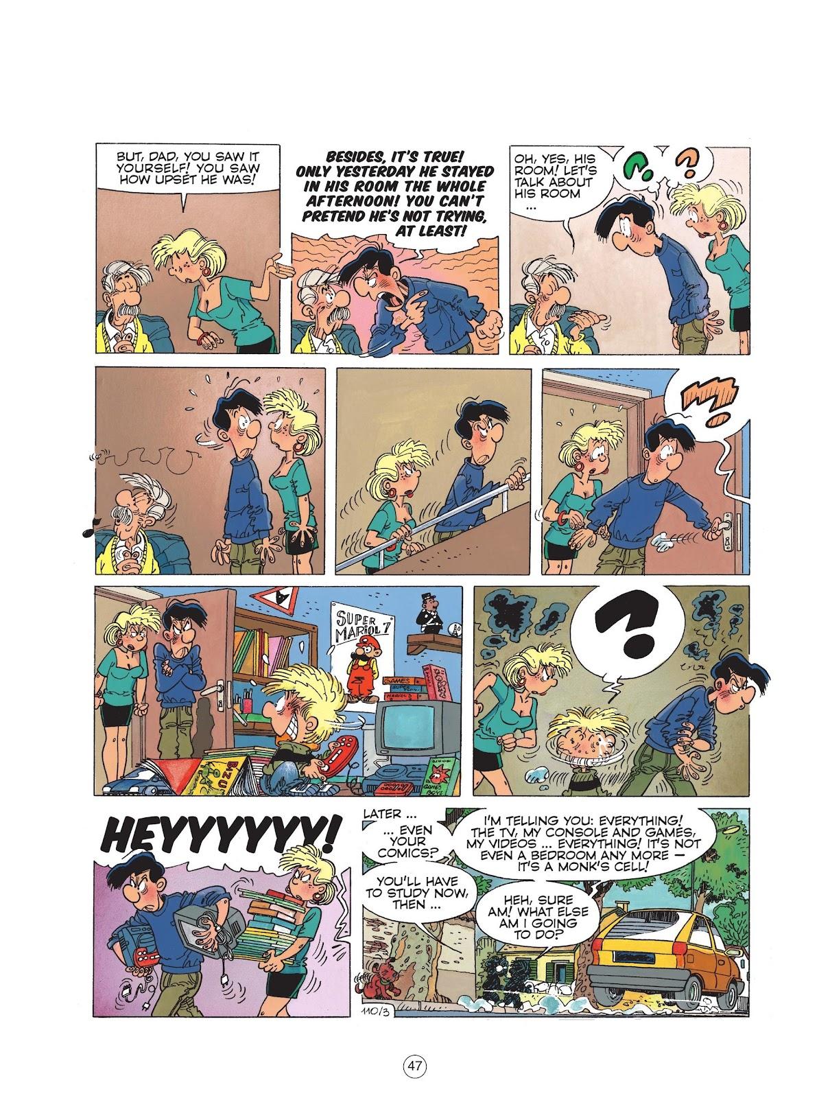 Read online Cedric comic -  Issue #6 - 49