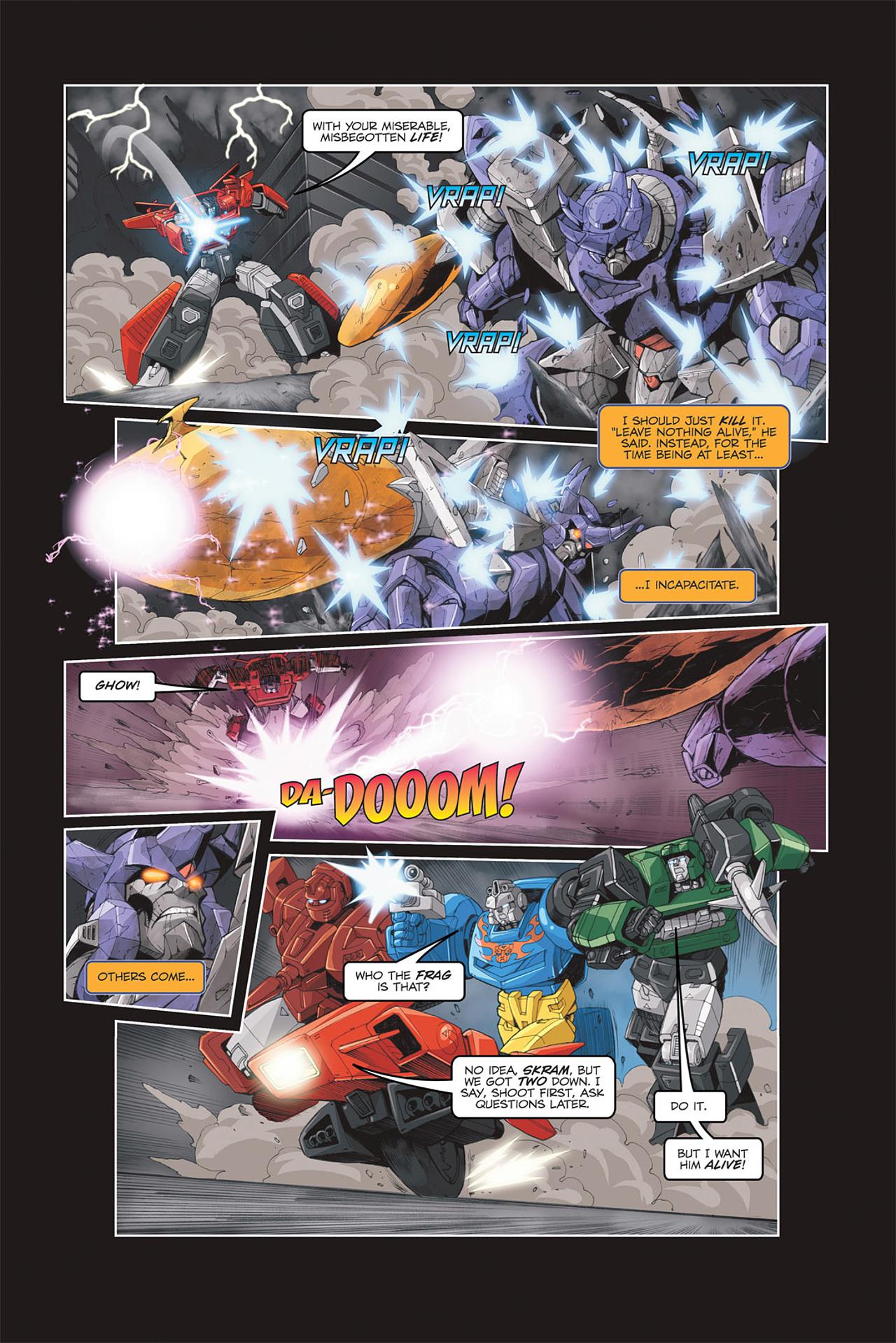 Read online Transformers Spotlight: Galvatron comic -  Issue # Full - 19