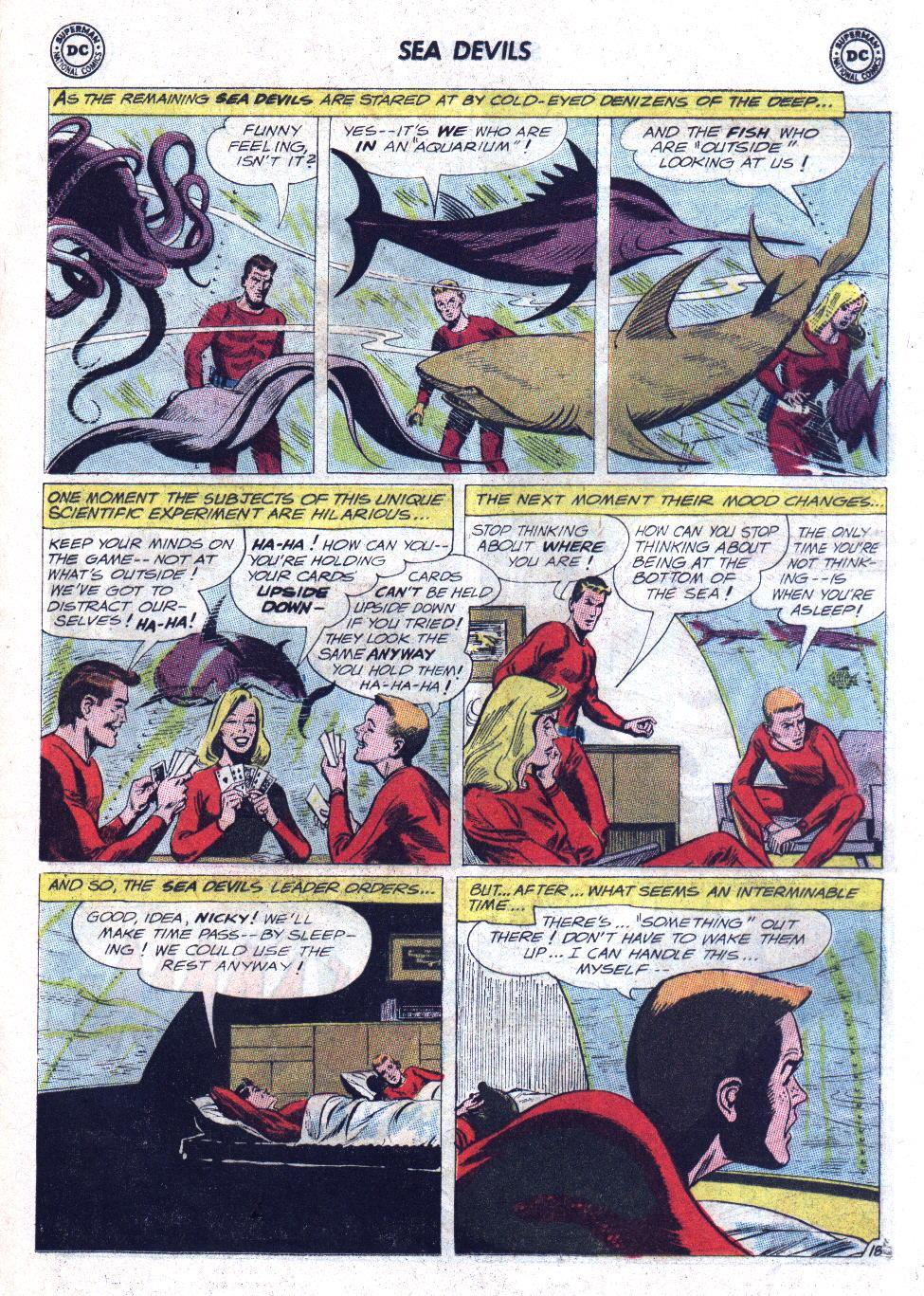 Read online Sea Devils comic -  Issue #11 - 25