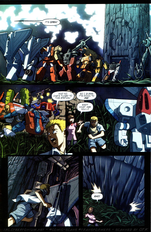 Read online Transformers Armada comic -  Issue #8 - 22
