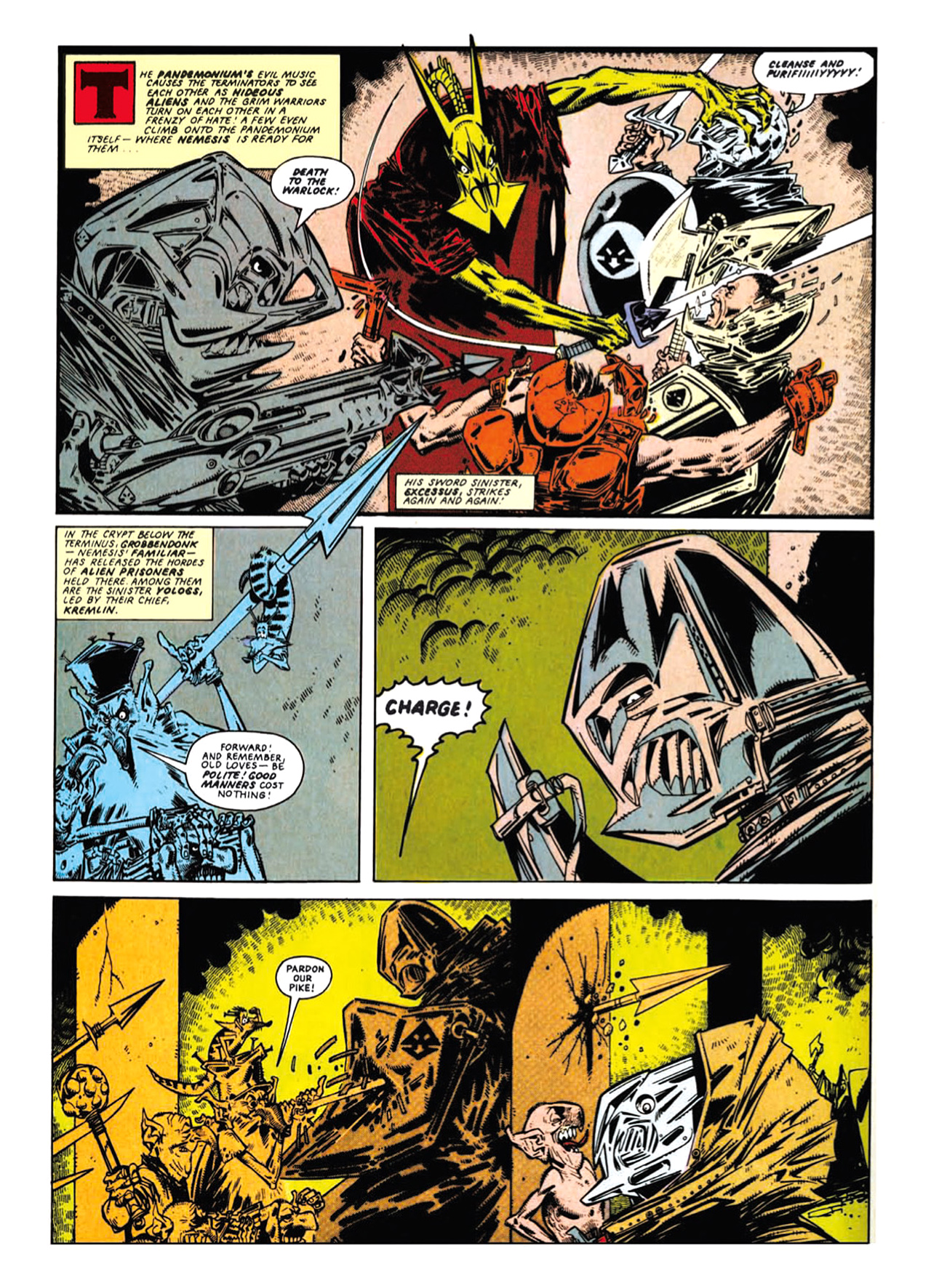 Read online Nemesis The Warlock comic -  Issue # TPB Deviant Edition - 69