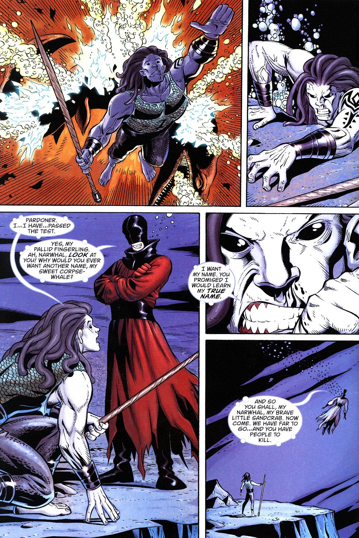 Read online Aquaman: Sword of Atlantis comic -  Issue #50 - 4
