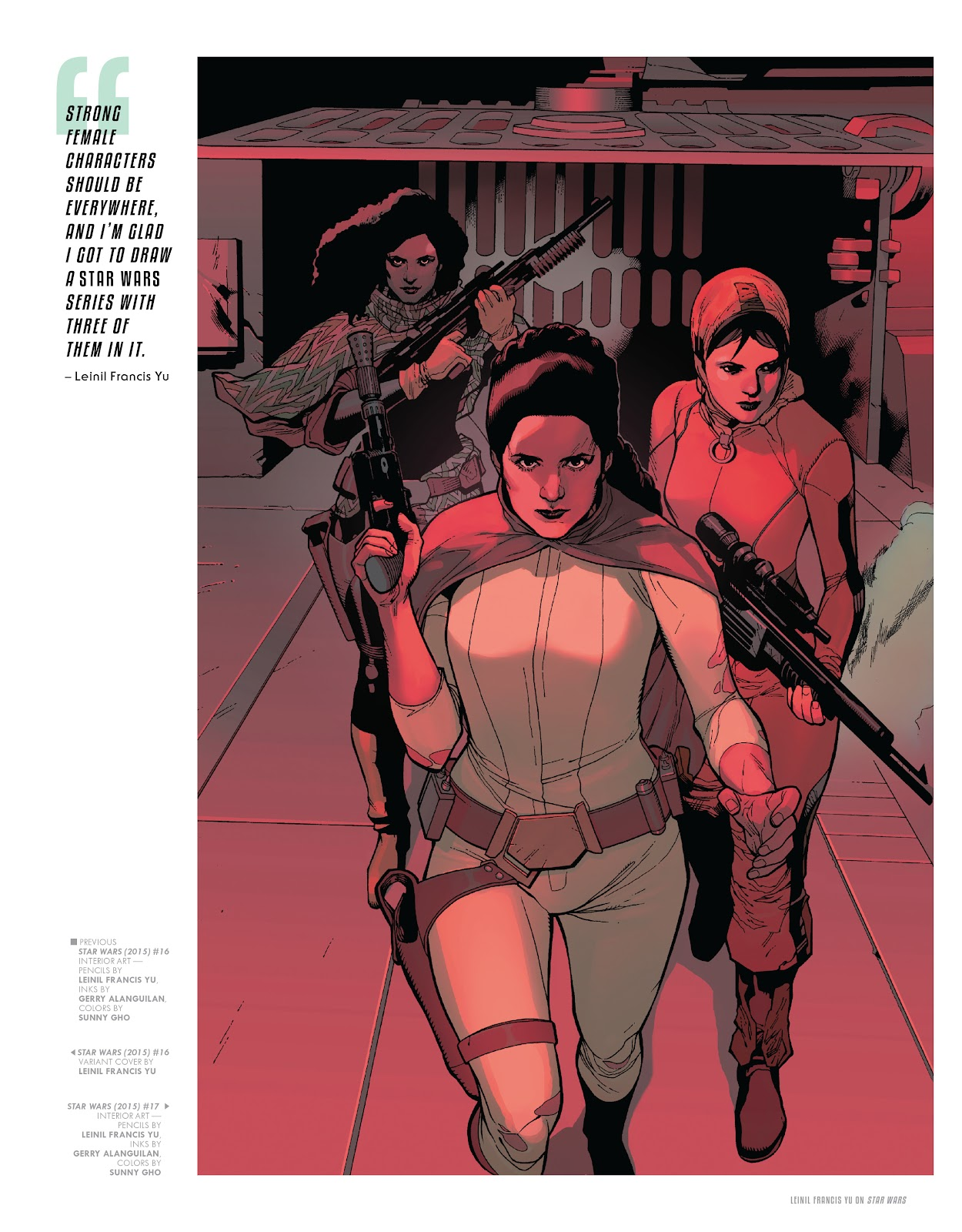 Read online The Marvel Art of Star Wars comic -  Issue # TPB (Part 1) - 95