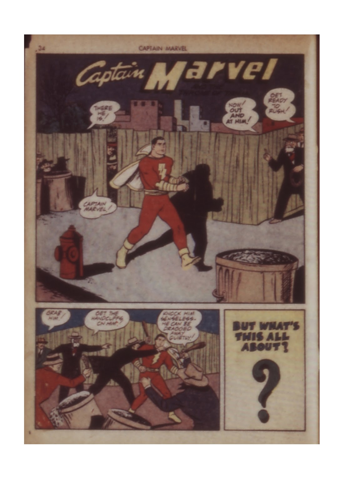 Captain Marvel Adventures issue 11 - Page 34