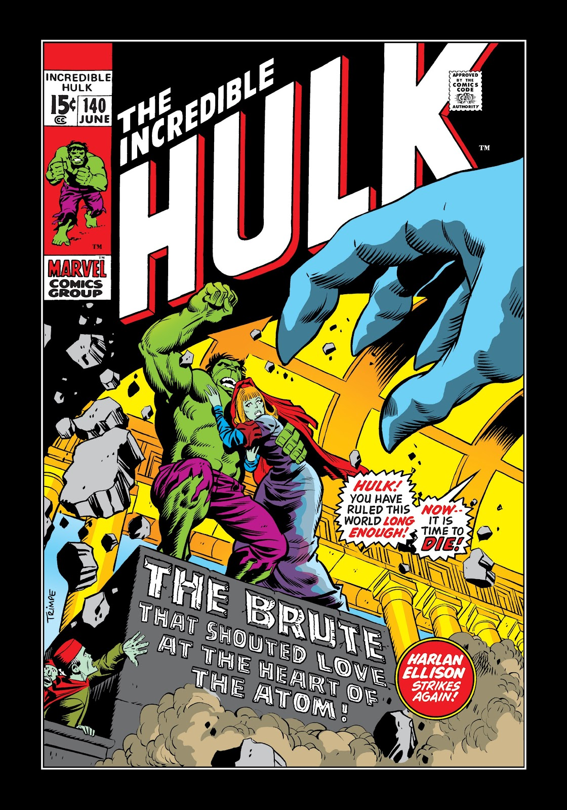 Read online Marvel Masterworks: The Incredible Hulk comic -  Issue # TPB 7 (Part 2) - 27