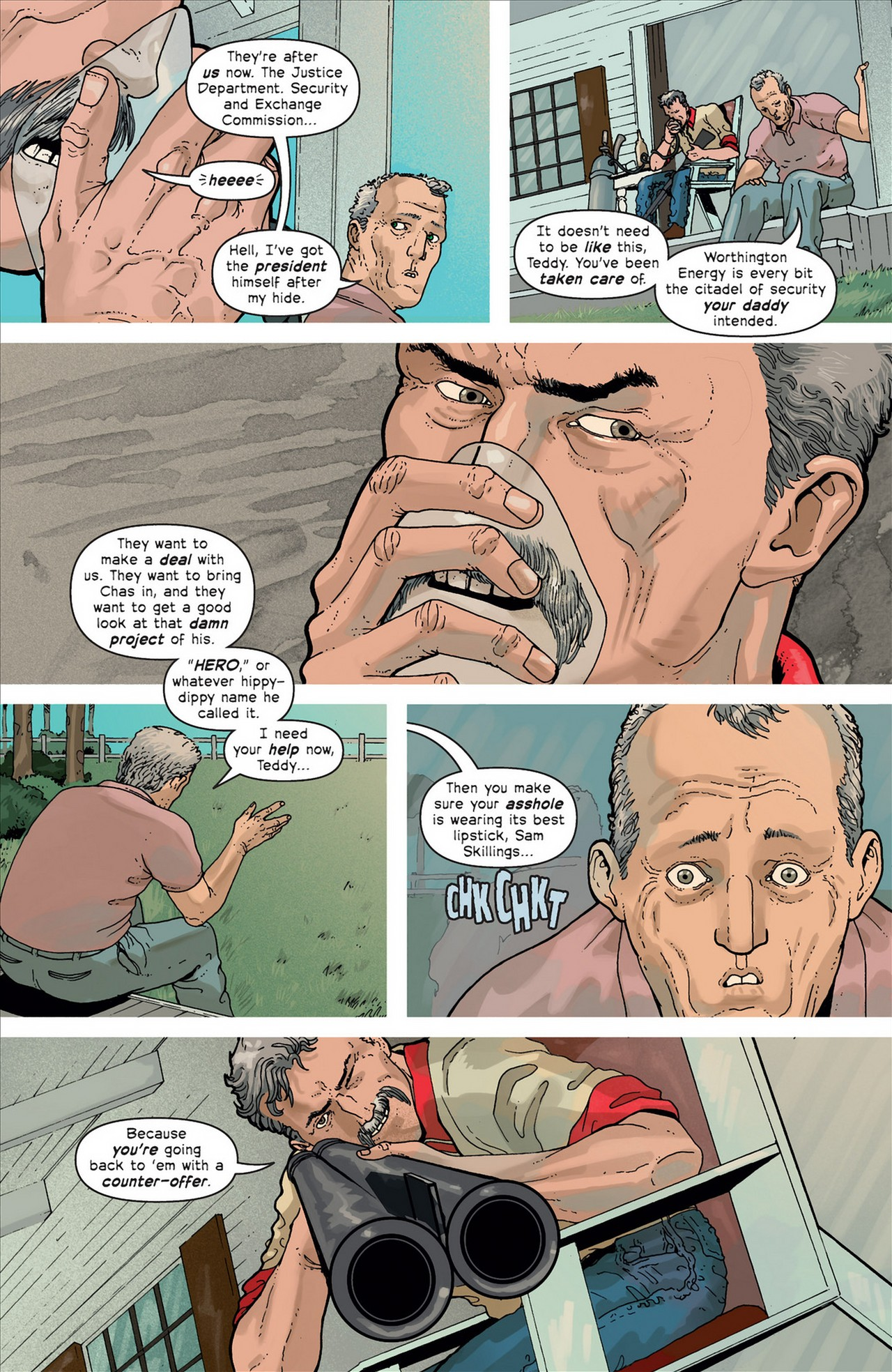Read online Great Pacific comic -  Issue #4 - 9