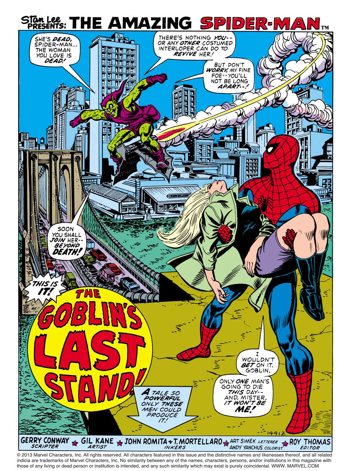 The Amazing Spider-Man (1963) 122 Page 1