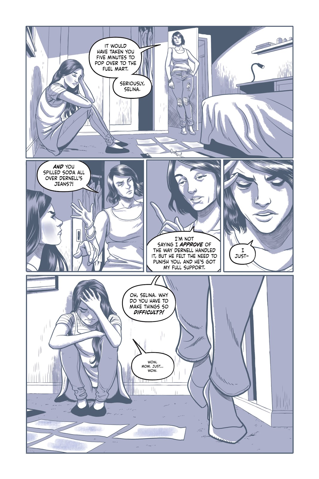 Read online Under the Moon: A Catwoman Tale comic -  Issue # TPB (Part 1) - 16