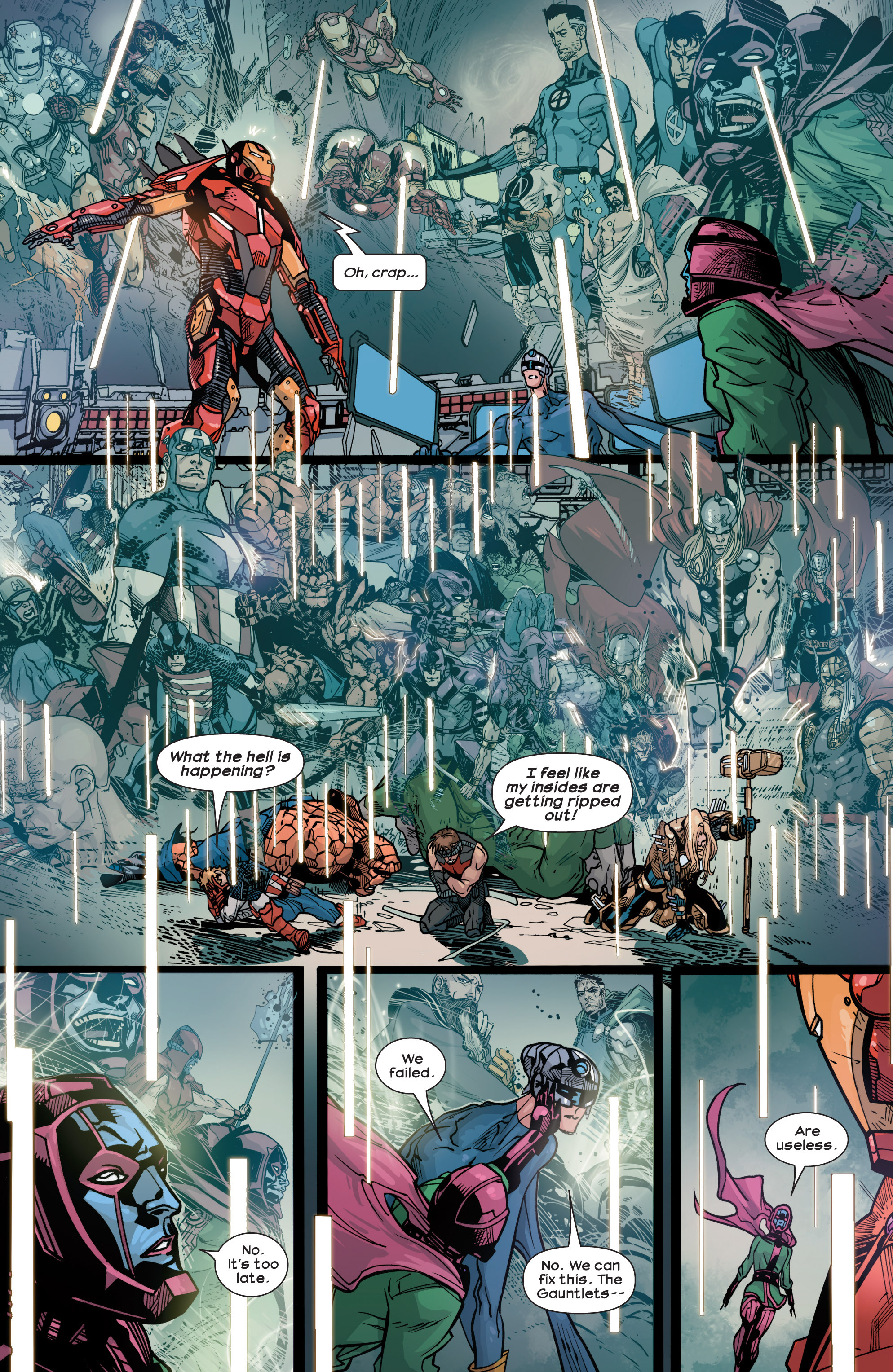 Read online Ultimate Comics Ultimates comic -  Issue #30 - 16