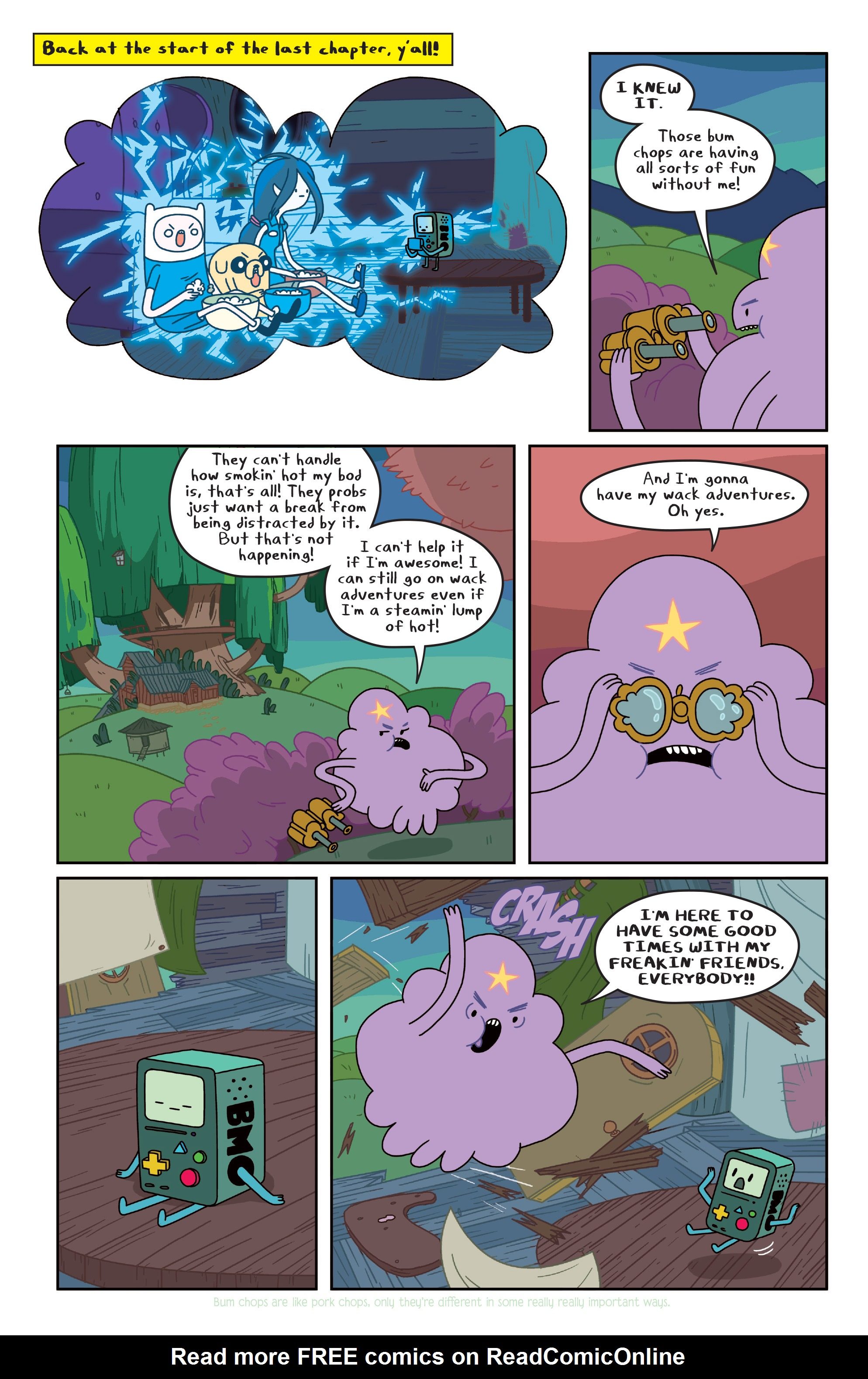 Read online Adventure Time comic -  Issue #Adventure Time _TPB 3 - 32