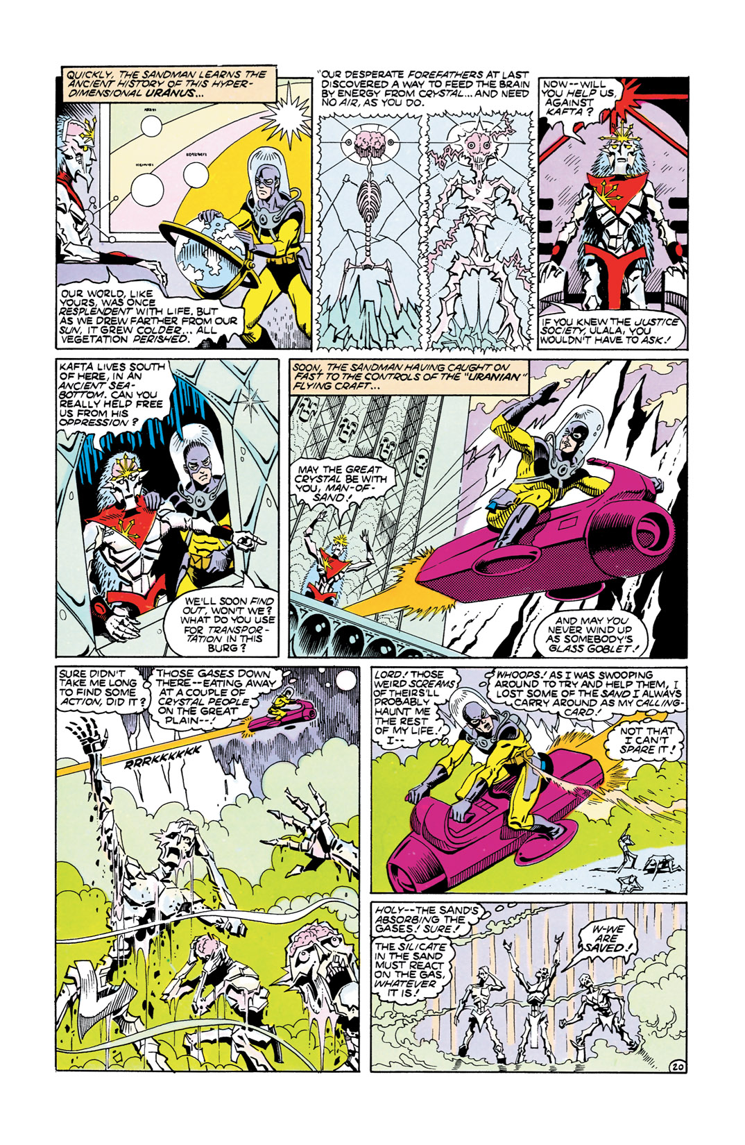 Read online All-Star Squadron comic -  Issue #55 - 21