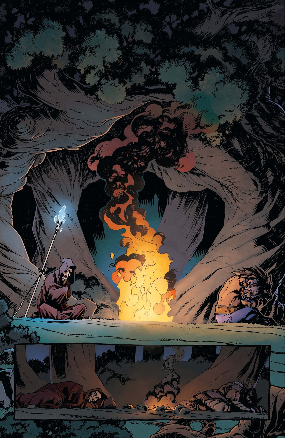 Read online World of Warcraft: Dark Riders comic -  Issue # Full - 91