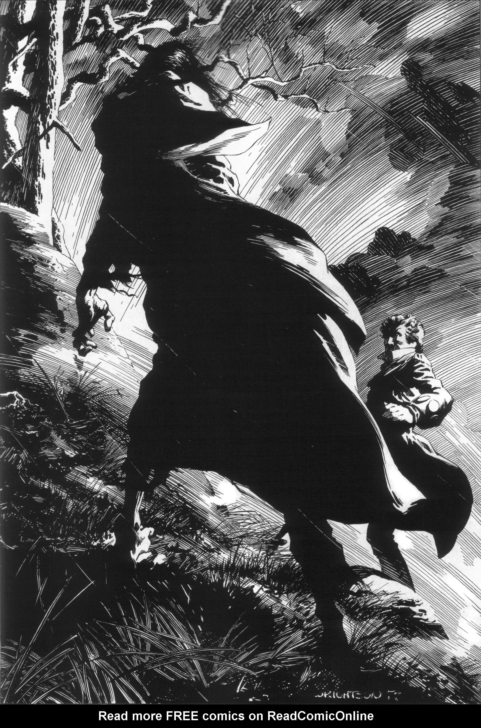 Read online Bernie Wrightson's Frankenstein comic -  Issue # Full - 15