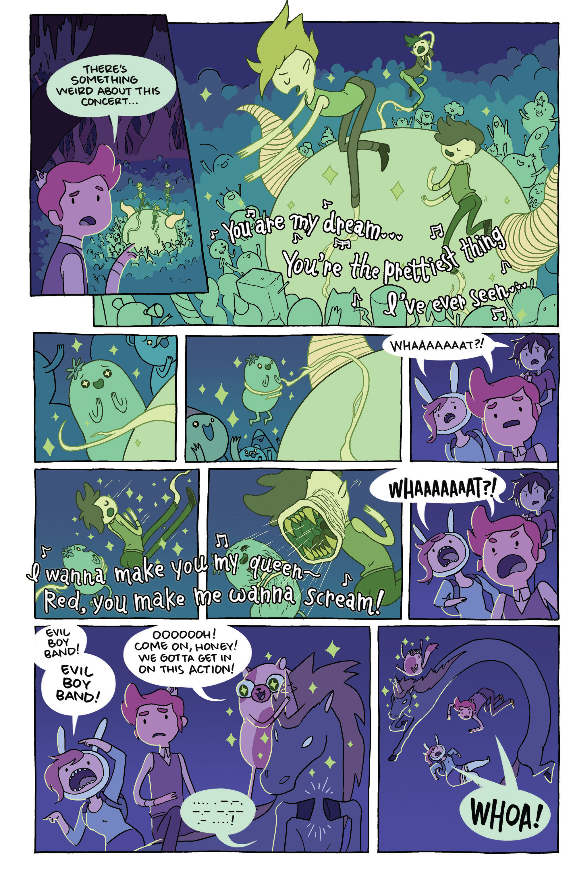 Read online Adventure Time comic -  Issue #23 - 24