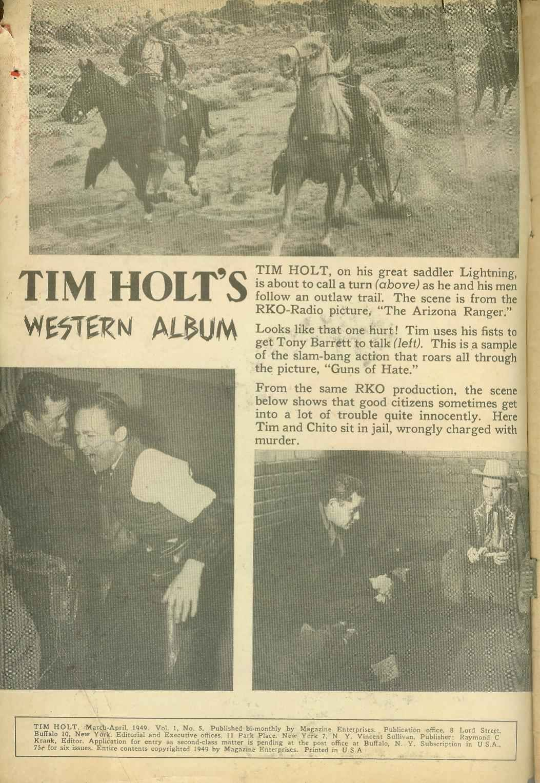 Tim Holt 5 Page 2