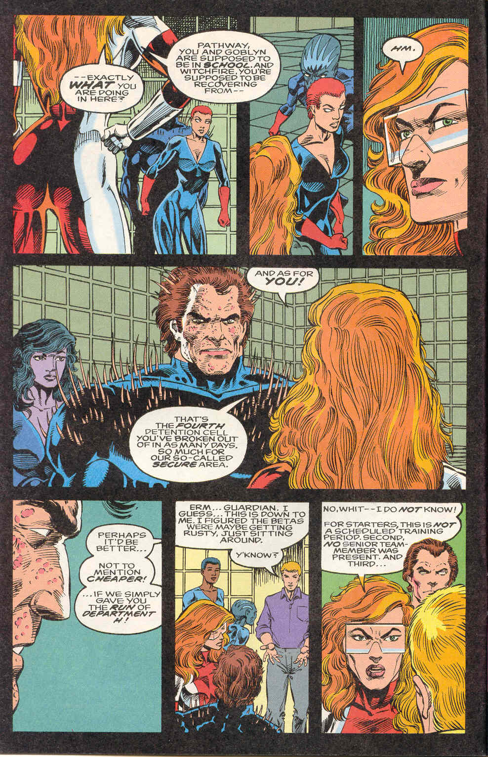 Read online Alpha Flight (1983) comic -  Issue #122 - 6