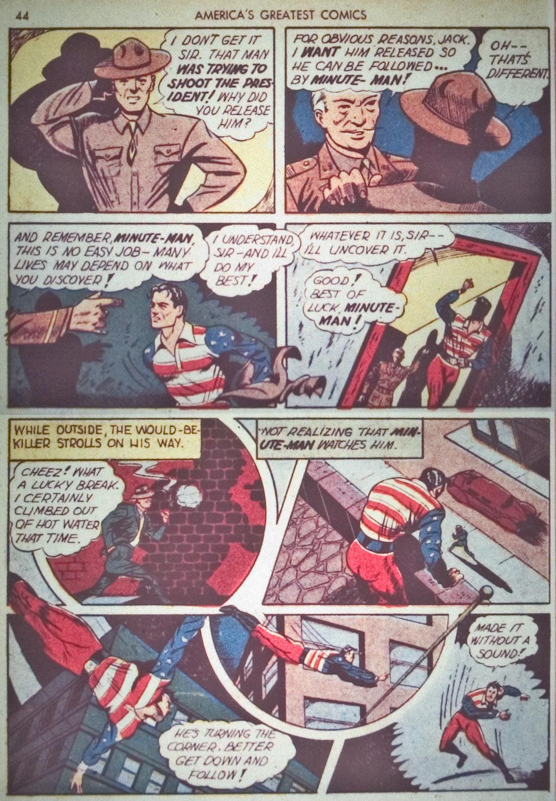 Read online America's Greatest Comics comic -  Issue #1 - 47