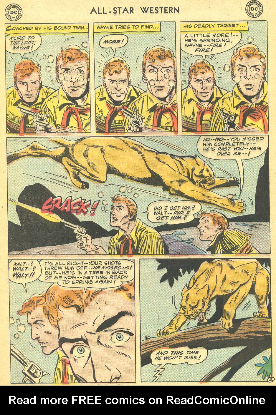 Read online All-Star Western (1951) comic -  Issue #92 - 4