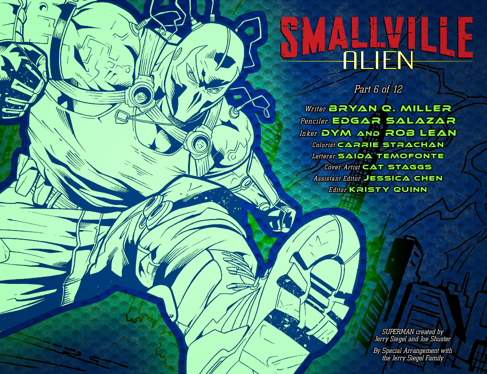 Read online Smallville: Alien comic -  Issue #6 - 2