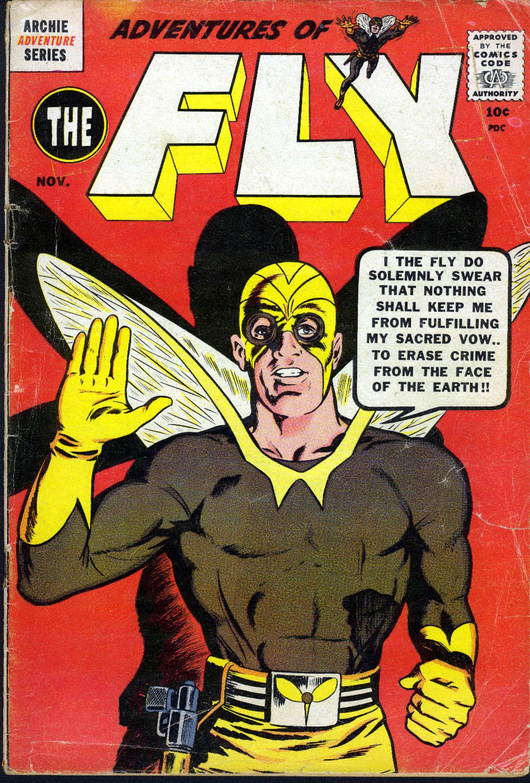 The Fly (1959) issue 3 - Page 1
