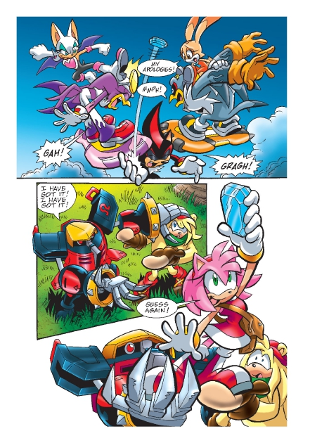 Read online Sonic Comics Spectacular: Speed of Sound comic -  Issue # Full - 200