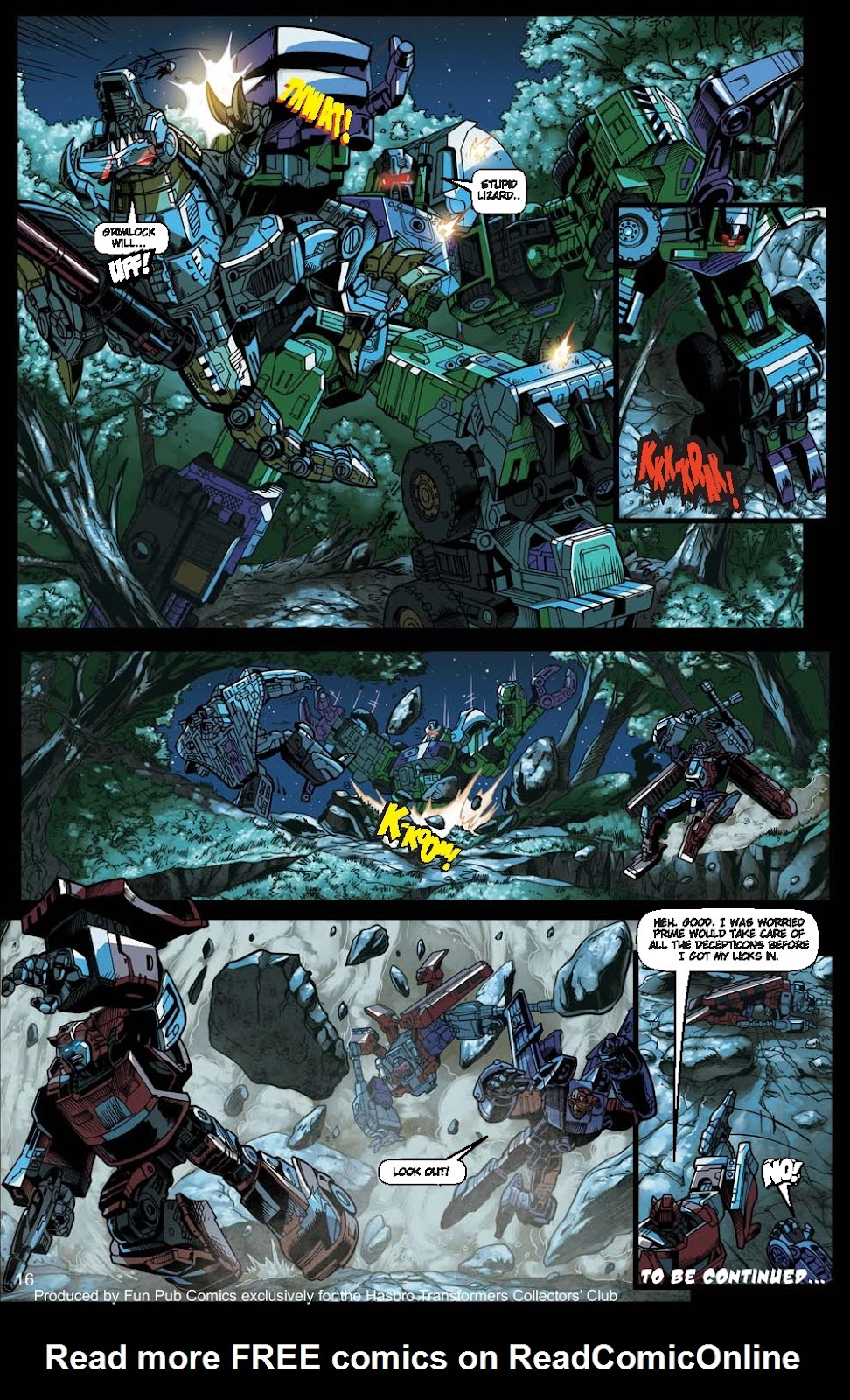 Read online Transformers: Collectors' Club comic -  Issue #15 - 16