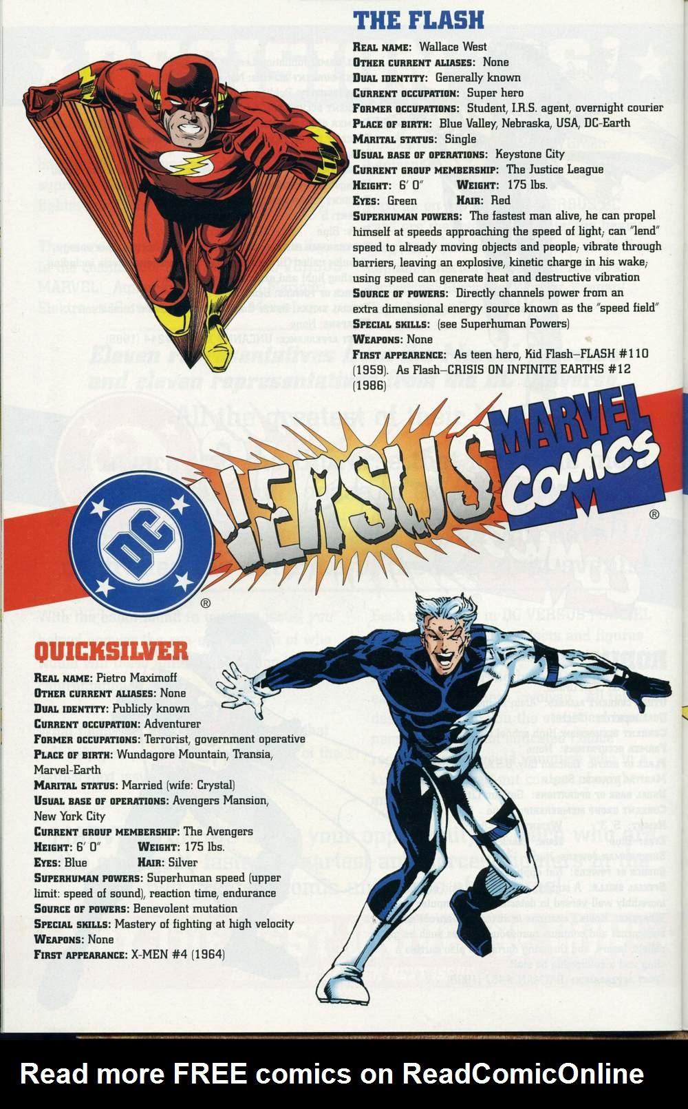 Read online DC Versus Marvel Comics comic -  Issue #2 - 37
