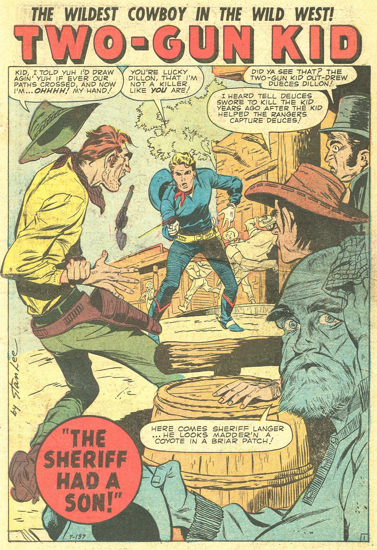 Read online Two-Gun Kid comic -  Issue #47 - 3