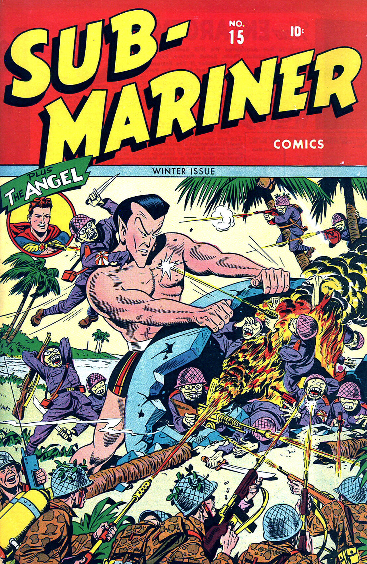 Sub-Mariner Comics 15 Page 1