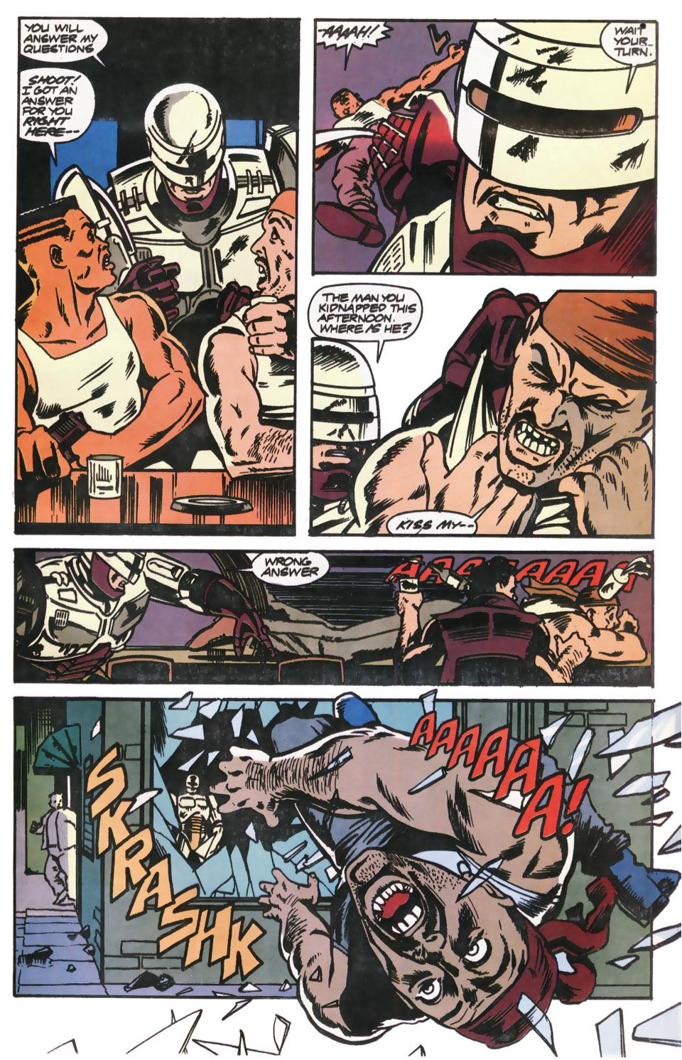 Read online Robocop (1990) comic -  Issue #12 - 21
