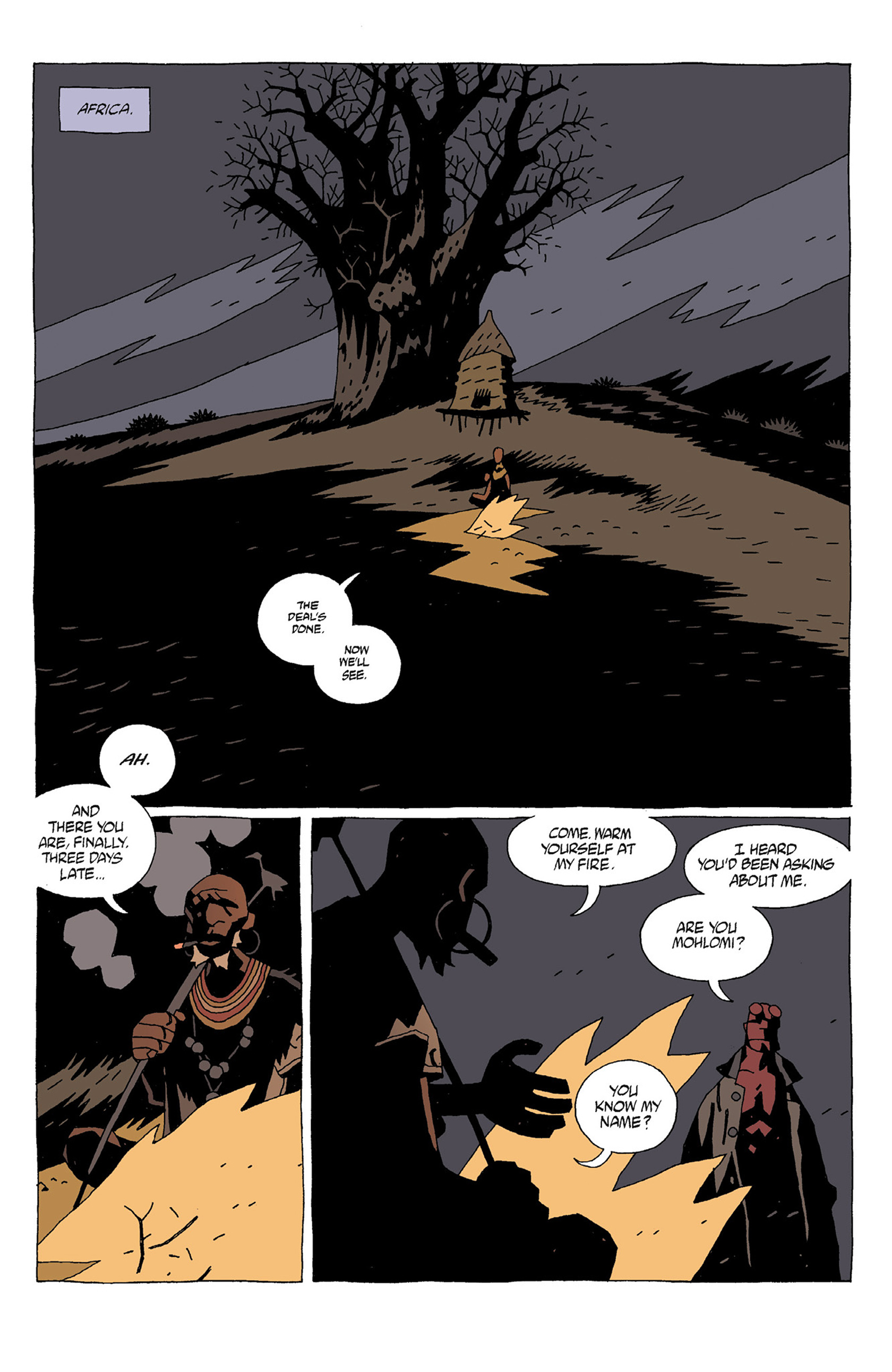 Read online Hellboy: Strange Places comic -  Issue # TPB - 11
