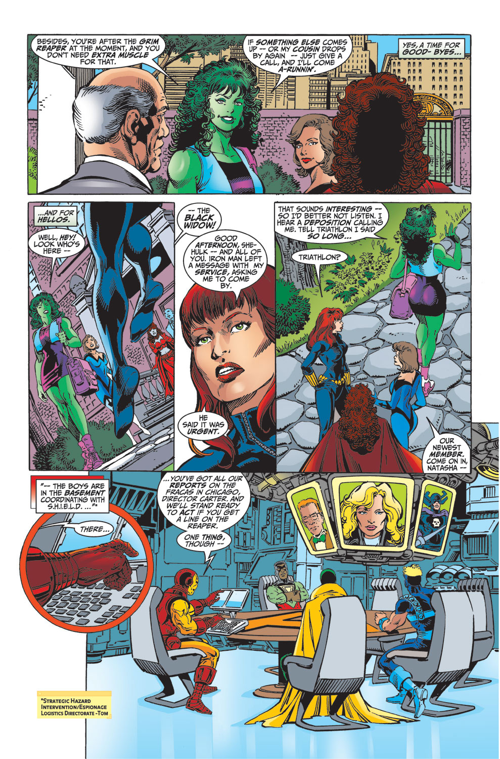 Read online Avengers (1998) comic -  Issue #32 - 3