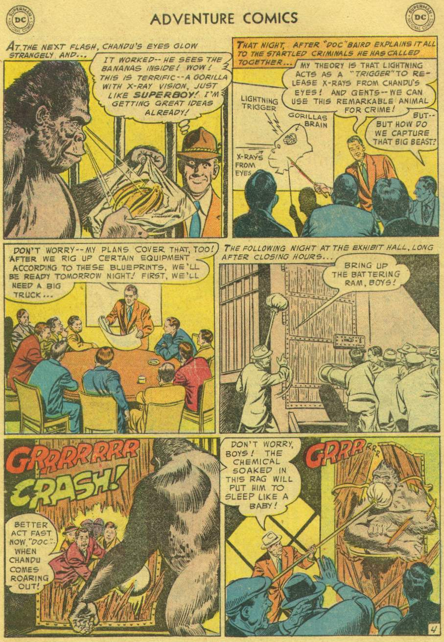 Read online Adventure Comics (1938) comic -  Issue #219 - 6