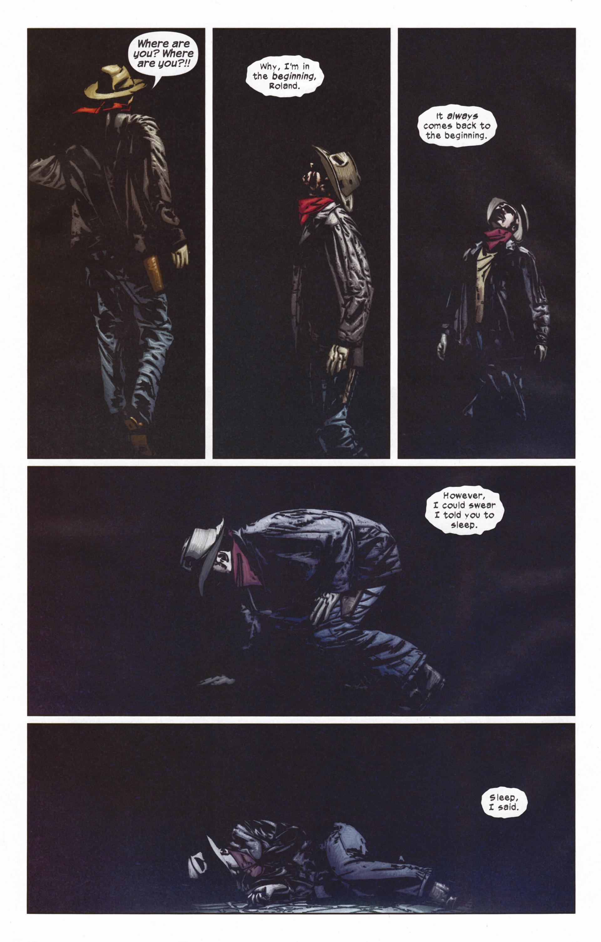 Read online Dark Tower: The Gunslinger - The Man in Black comic -  Issue #5 - 11