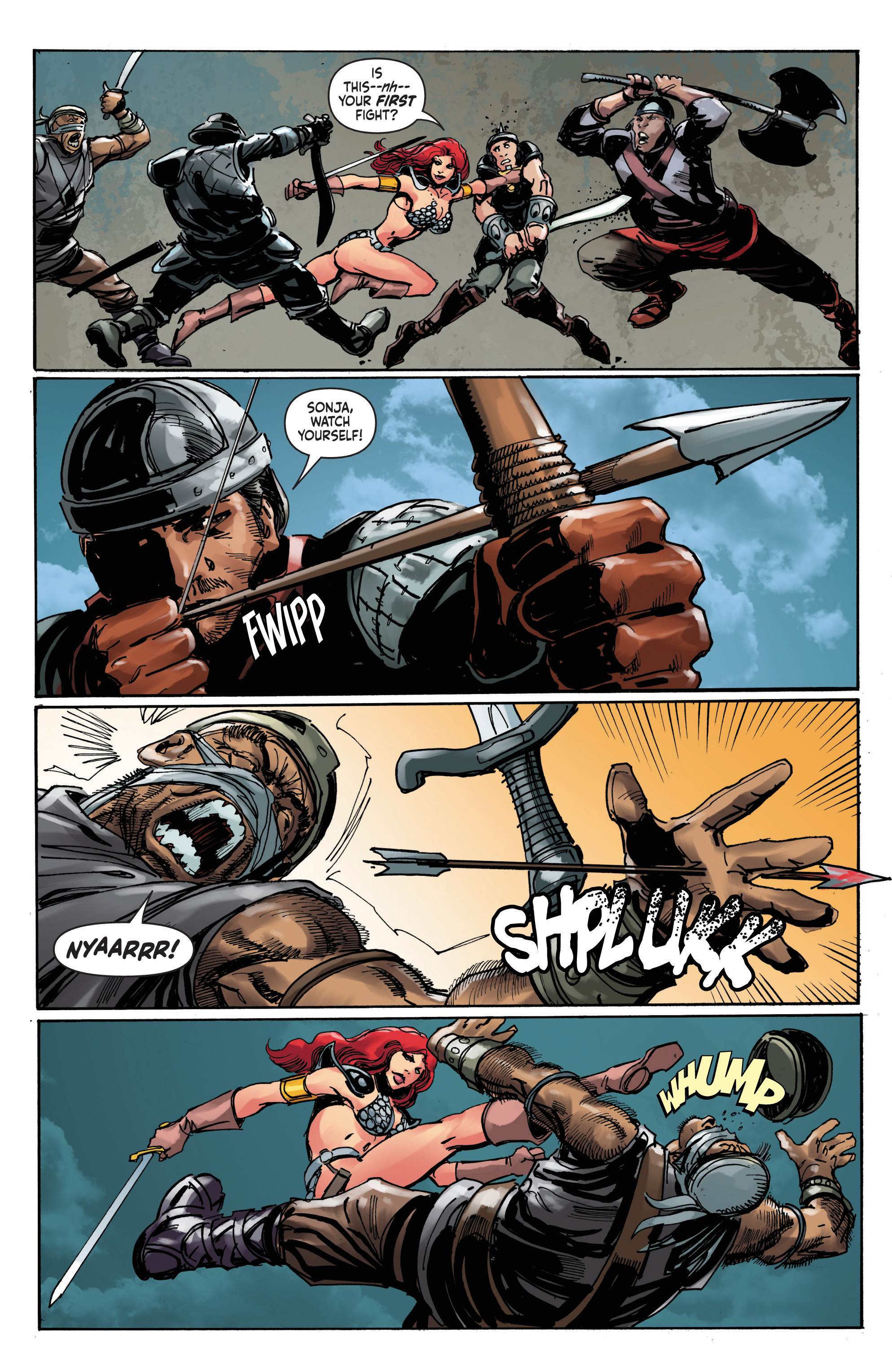 Read online Red Sonja: The Long Walk To Oblivion comic -  Issue # Full - 17