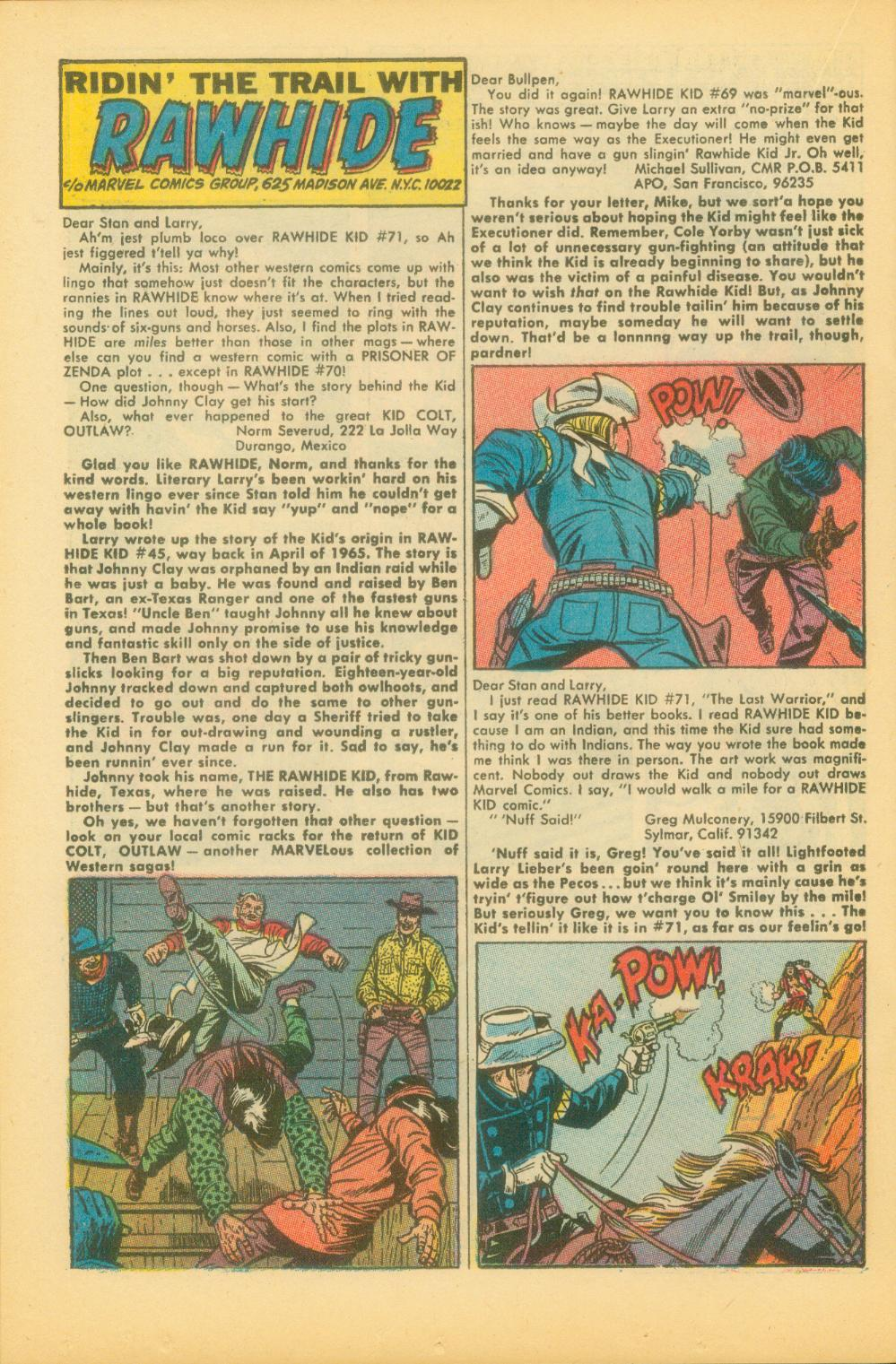 The Rawhide Kid (1955) issue 73 - Page 23