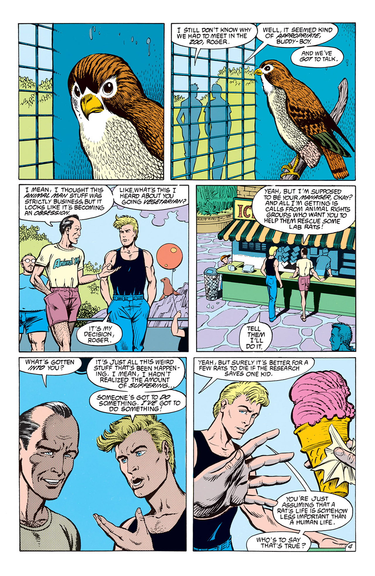 Read online Animal Man (1988) comic -  Issue #6 - 6