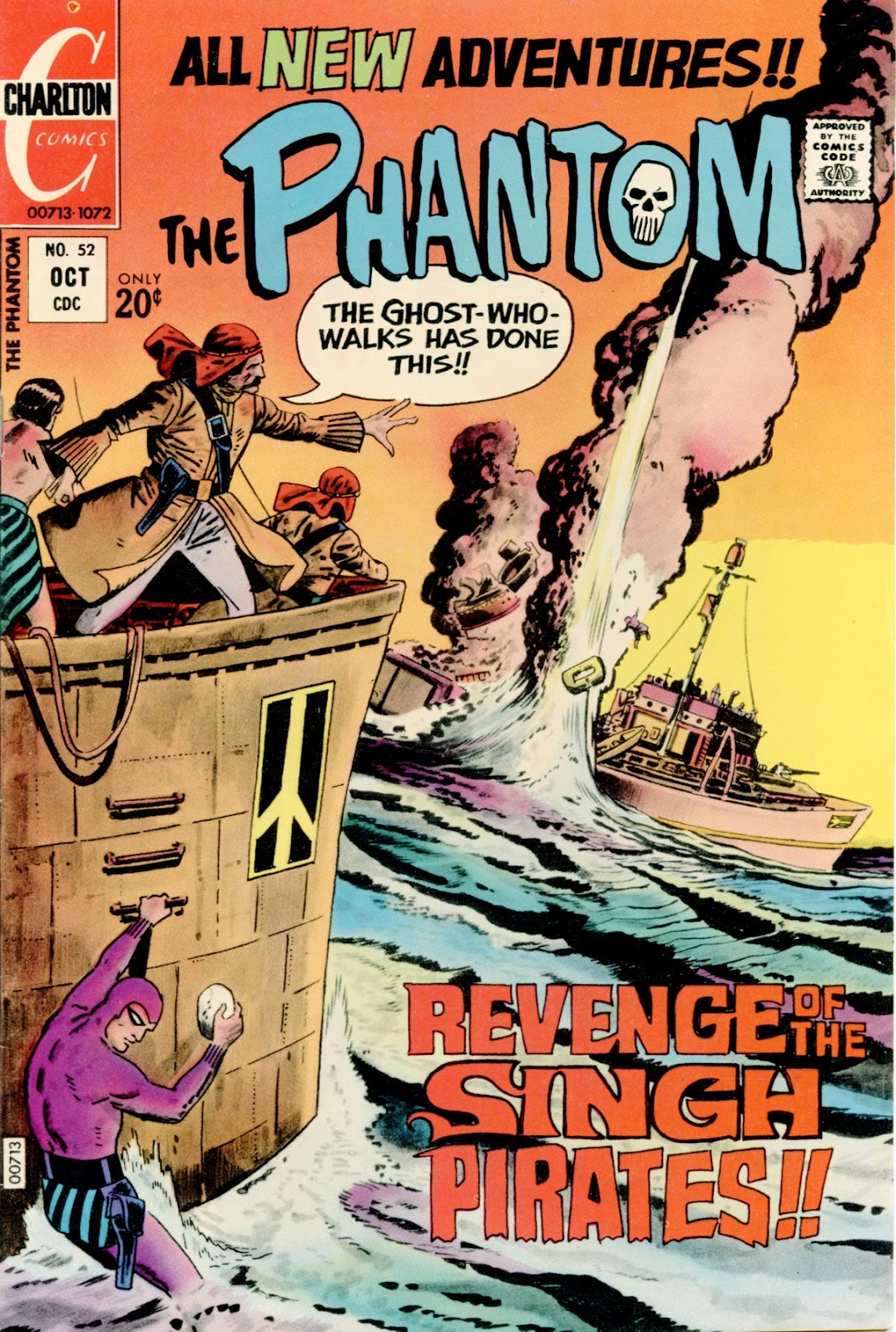 The Phantom (1969) issue 52 - Page 1