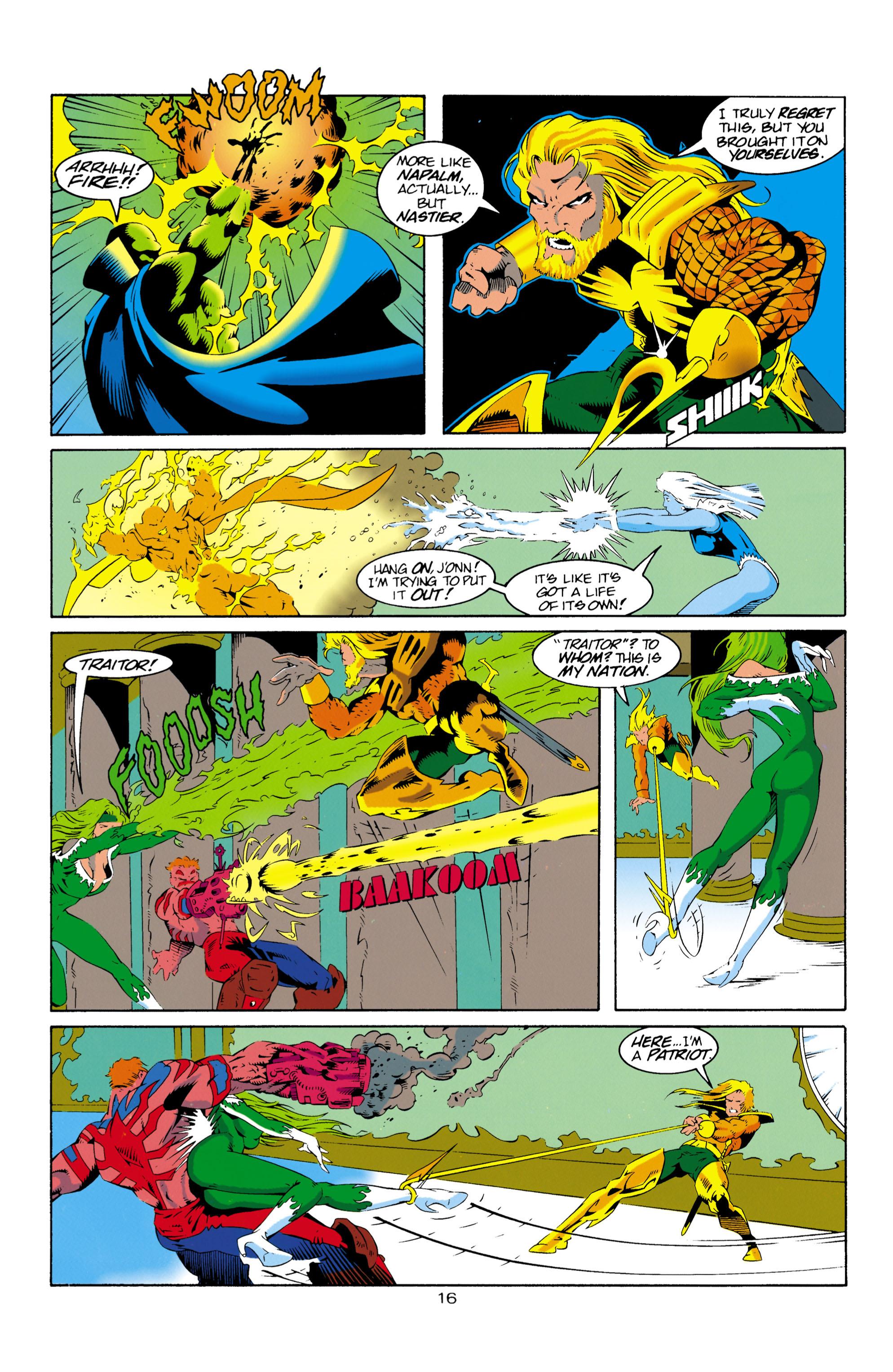 Read online Aquaman (1994) comic -  Issue #16 - 17